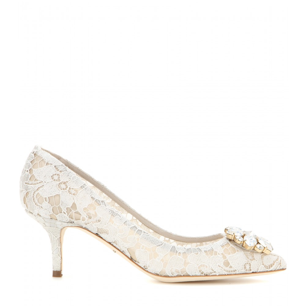 Dolce & Gabbana Bellucci Lace Pumps clearance good selling manchester great sale sale online buy cheap new arrival cheap sale 2014 new cheap sale websites 6Wnzg