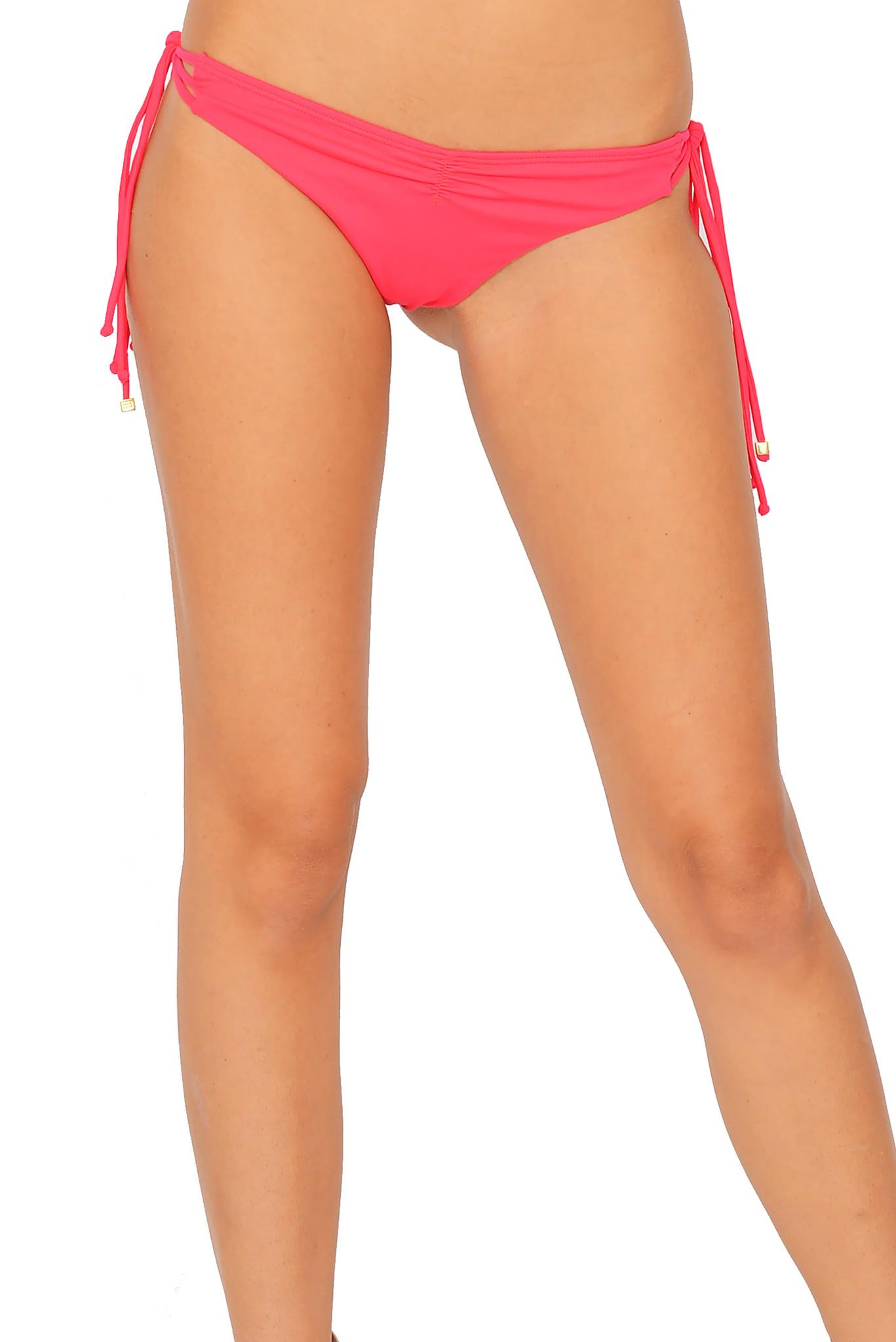 4514de7ea8 Del mar Aurora Triangle Bikini Bottom In Azalea Pink in