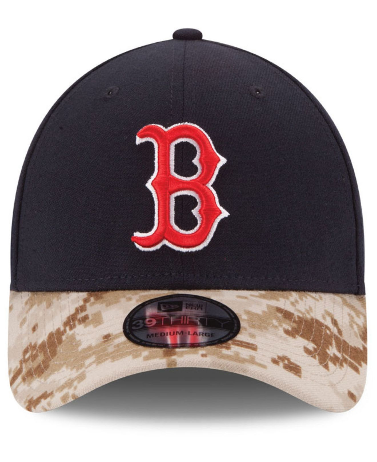 the best attitude b752f f6383 ... new era green 2017 memorial day 39thirty flex hat 6d8a0 fc5ad  cheapest  lyst ktz boston red sox memorial day 39thirty cap in blue for men 62c48  5ba31