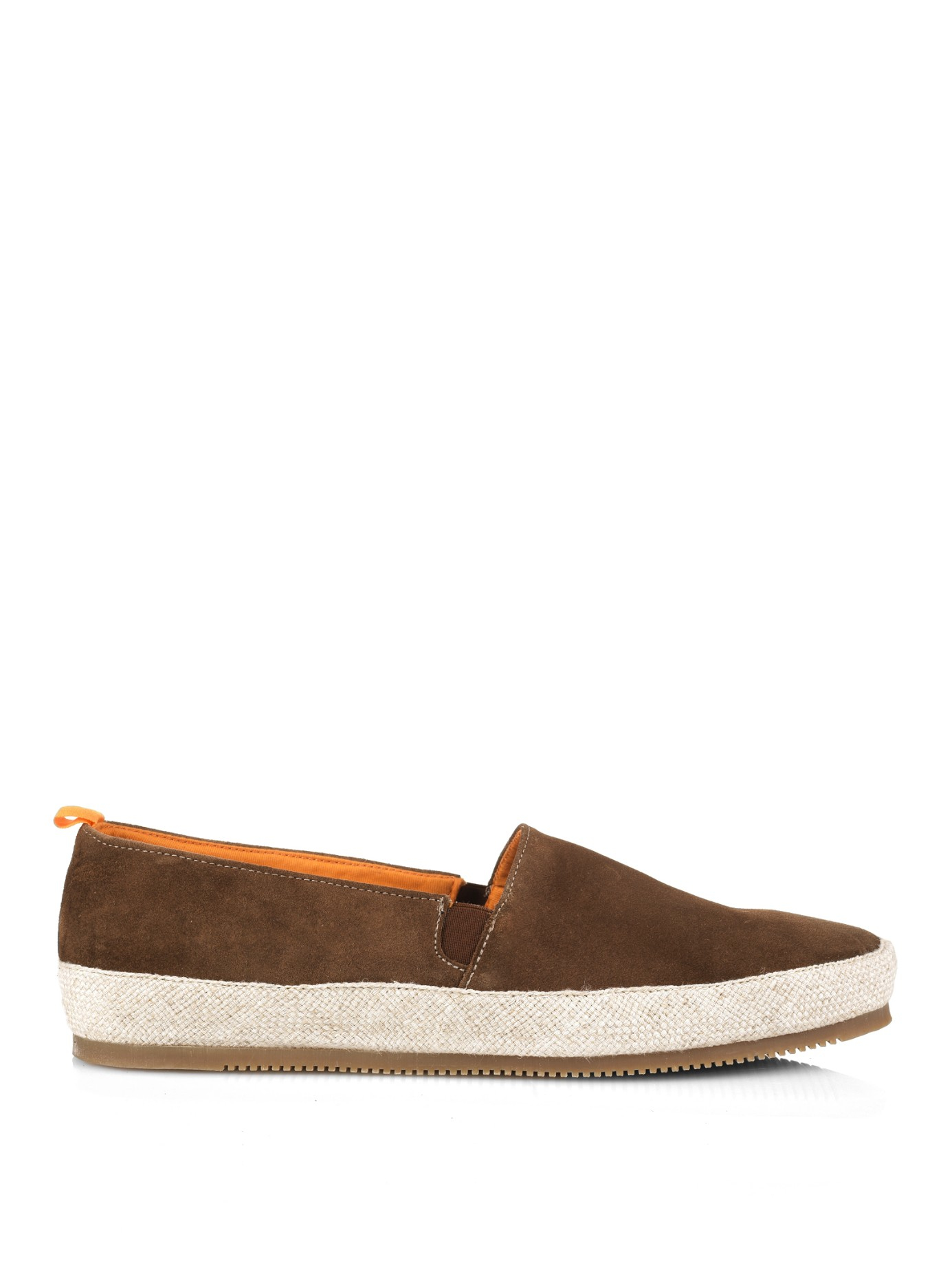 Suede Espadrilles - Light brownMulo