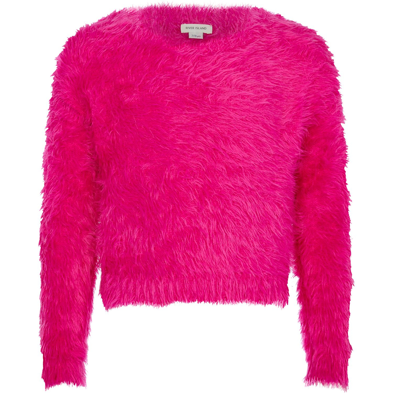 Red fluffy jumper Open V back The jumper can be styled both ways (reversible) One size fits all Gentle machine wash 60% Acrylic, 30% Polyamide, 10% Wool Our .