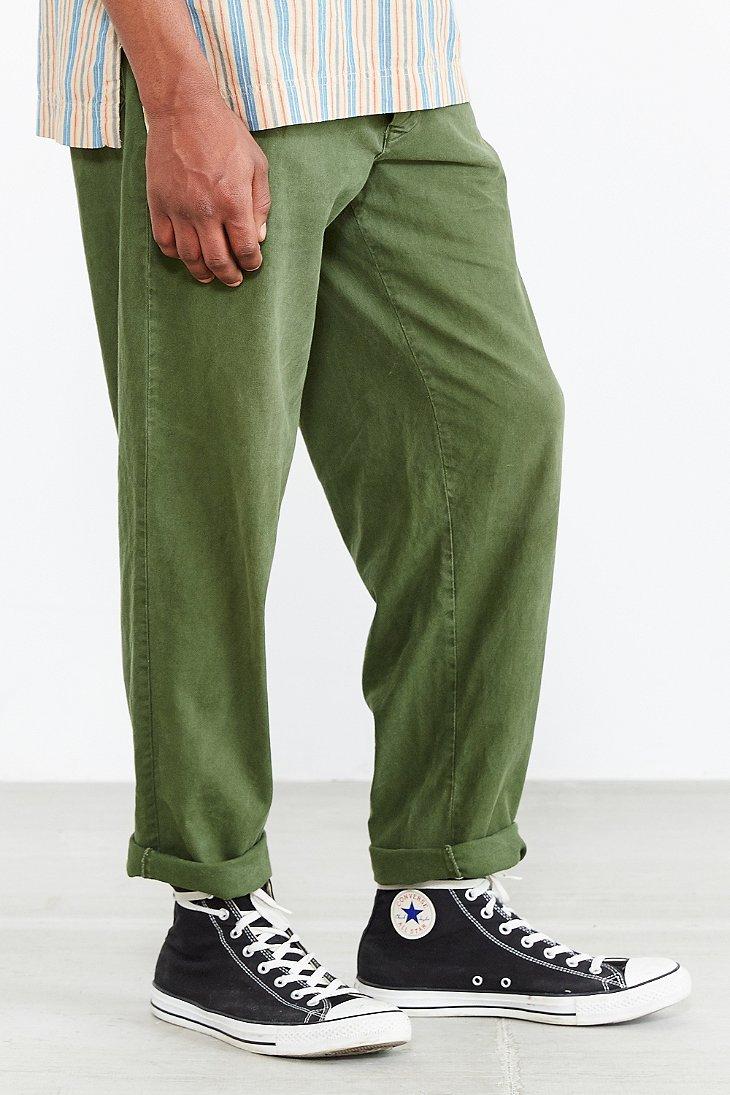 Lyst - Urban Renewal Vintage Swedish Military Pant in Green for Men 4d323799977