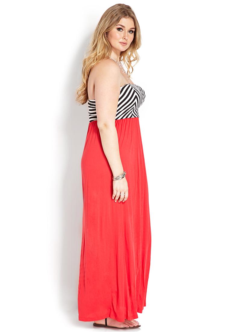 strapless dress forever 21 india