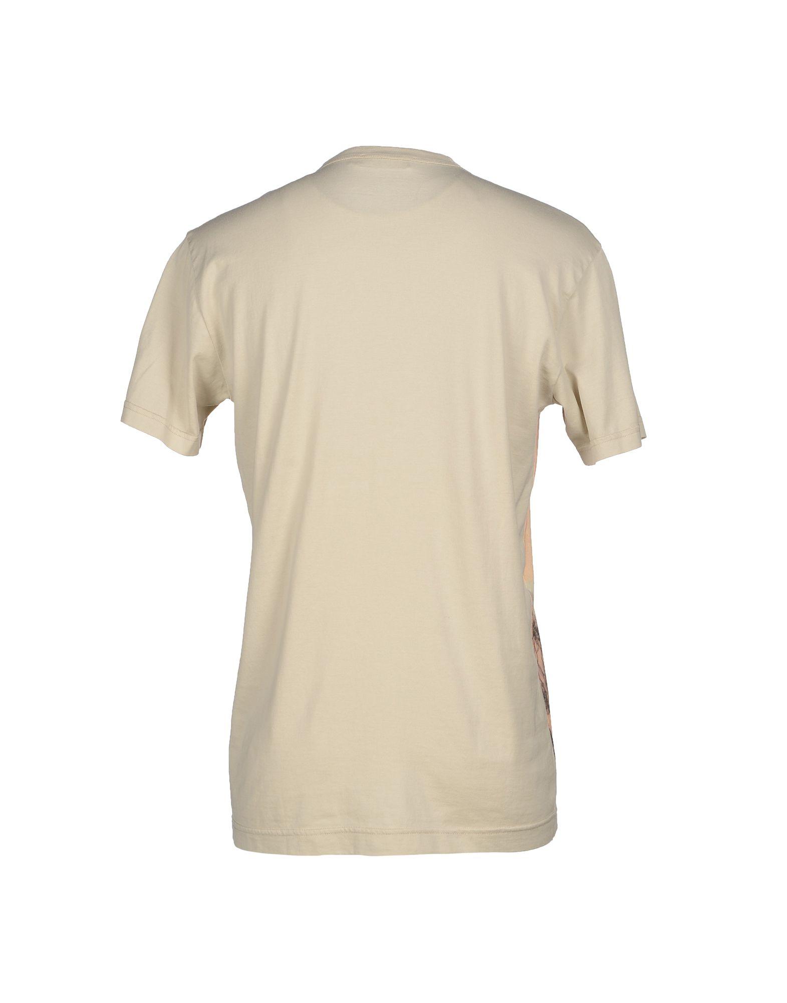 lyst dolce gabbana t shirt in white for men. Black Bedroom Furniture Sets. Home Design Ideas
