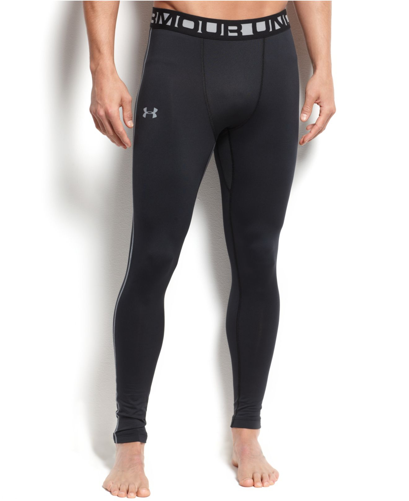 Product Information. These Under Armour Men's UA ColdGear EVO CG Leggings are great to work out in during the cold weather. Product Features: Quick drying.