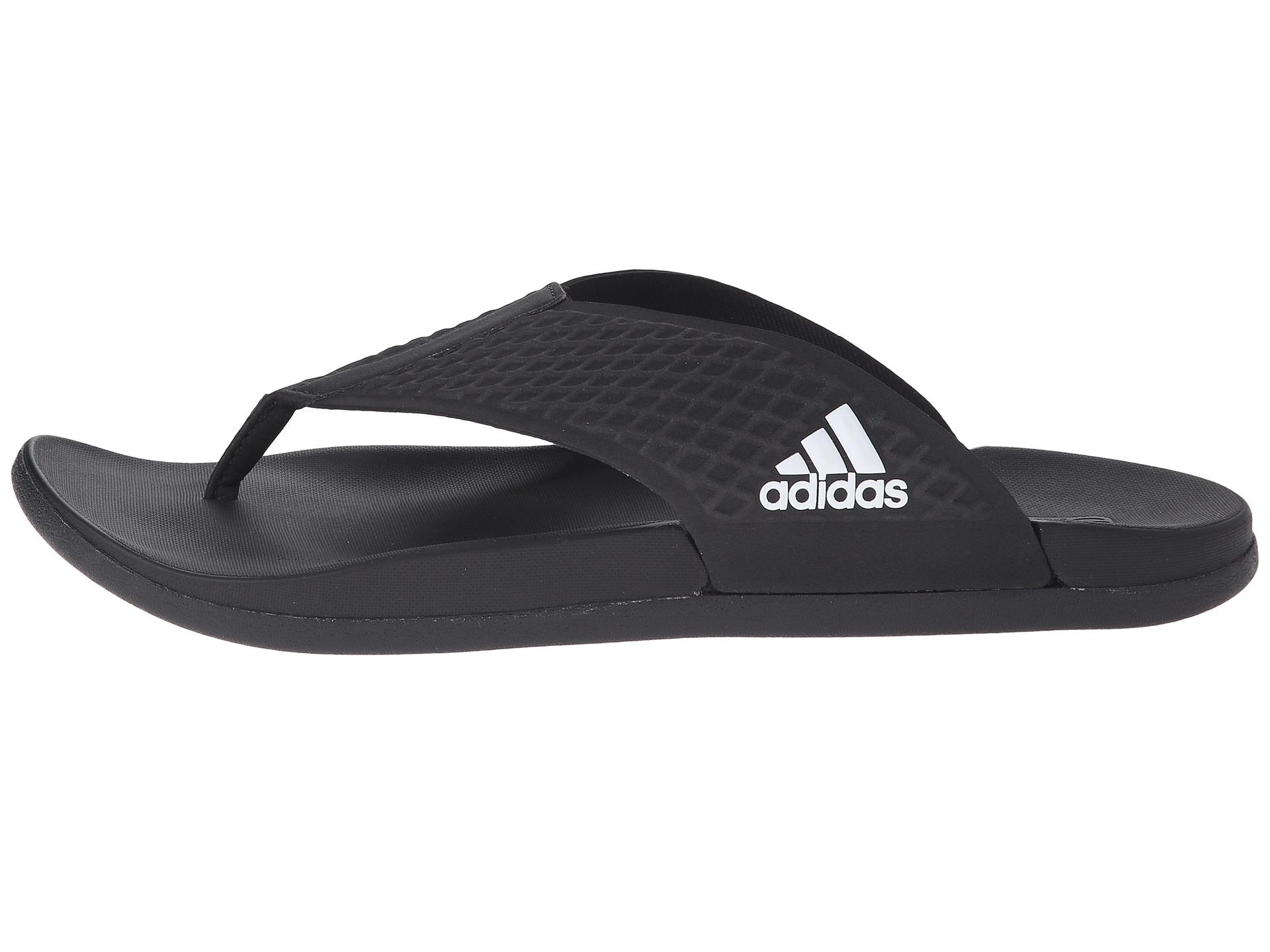 5bec9b47834a6a Lyst - adidas Originals Adilette Sc Plus Thong in Black for Men