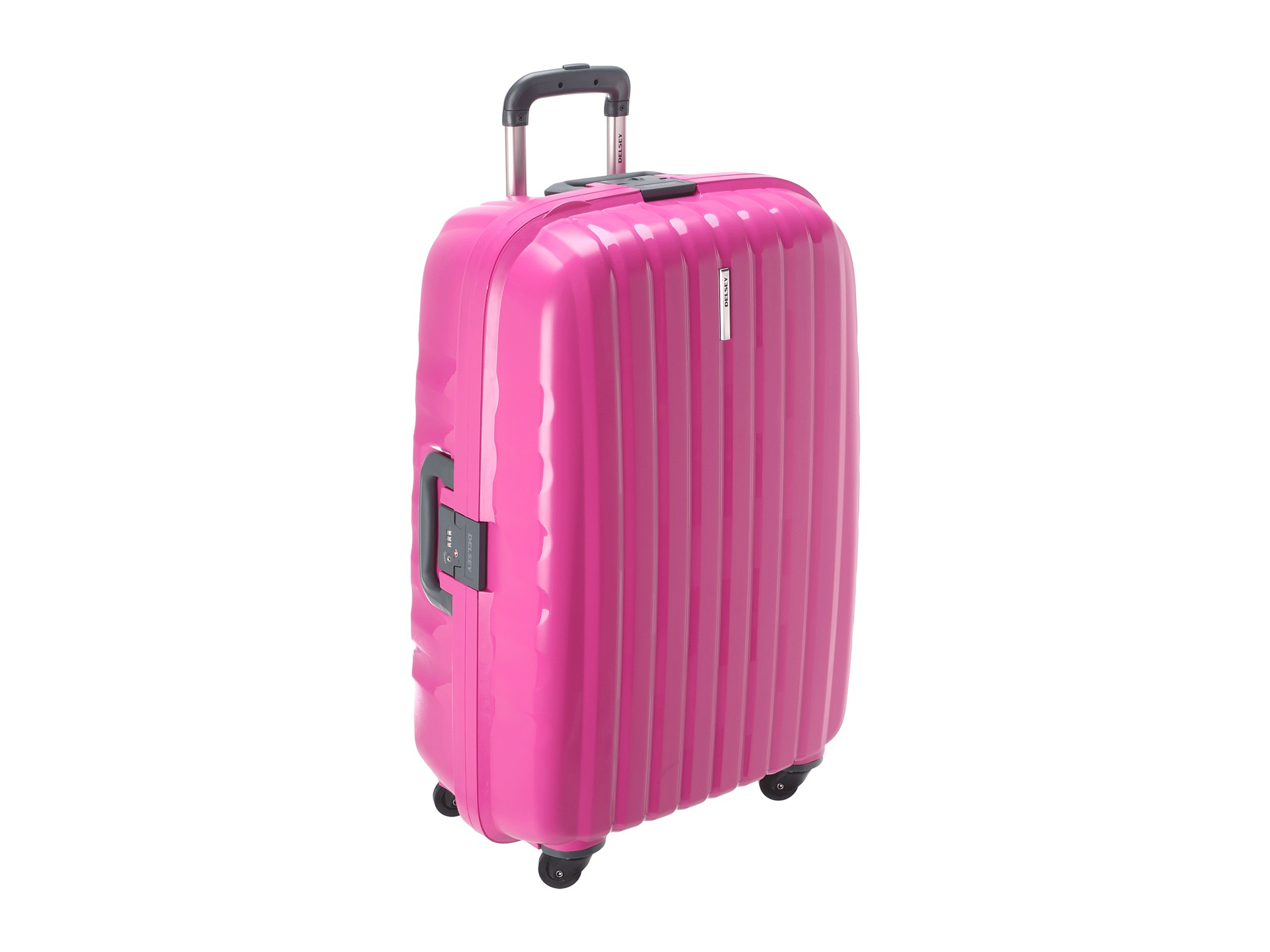 Pink Delsey Luggage | Luggage And Suitcases