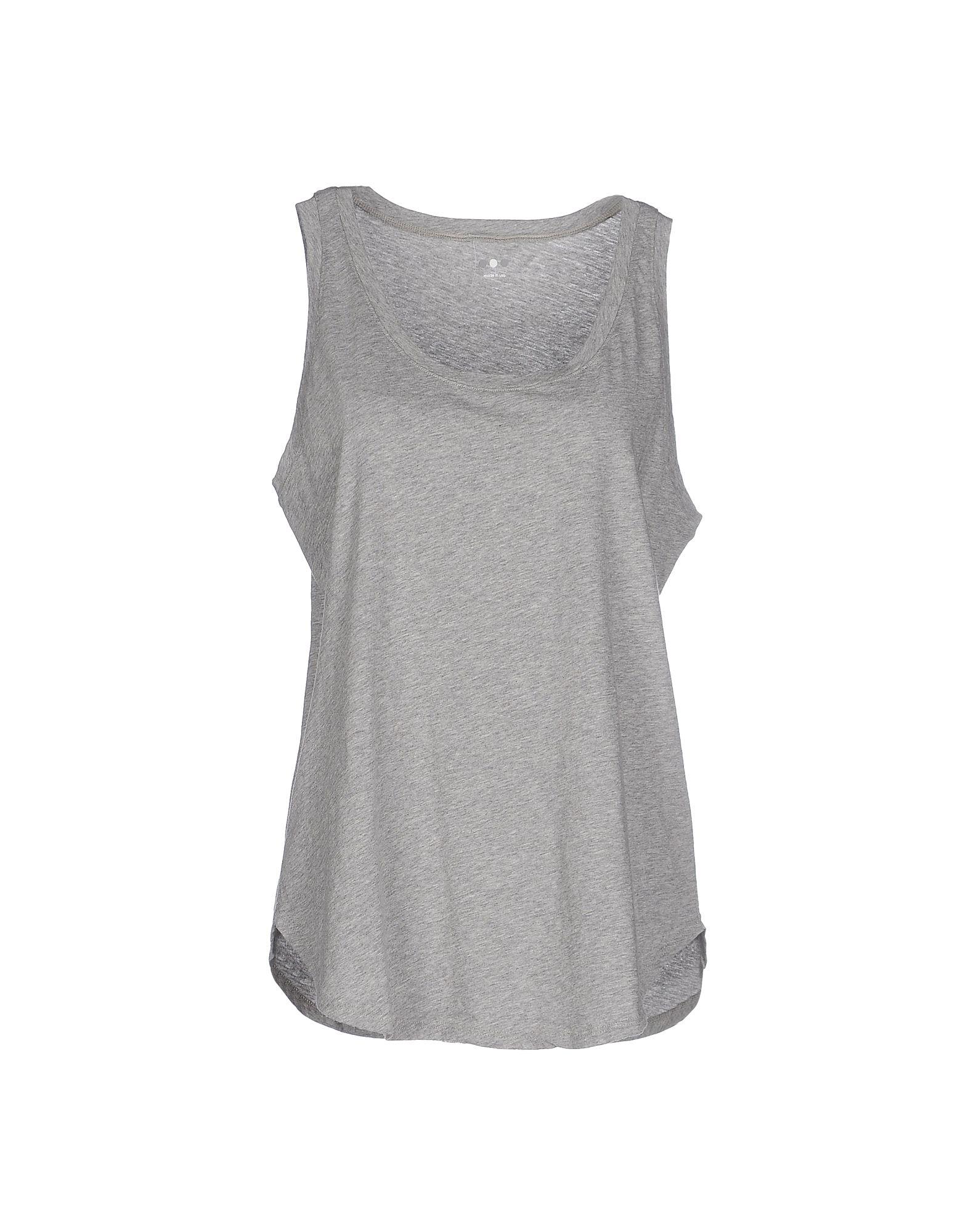 Three dots t shirt in gray lyst for Three dots t shirts