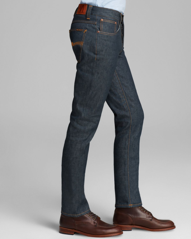 Lyst - Nudie Jeans Nudie Jeans Grim Tim Organic Dry Slim Straight ... 60e663e17