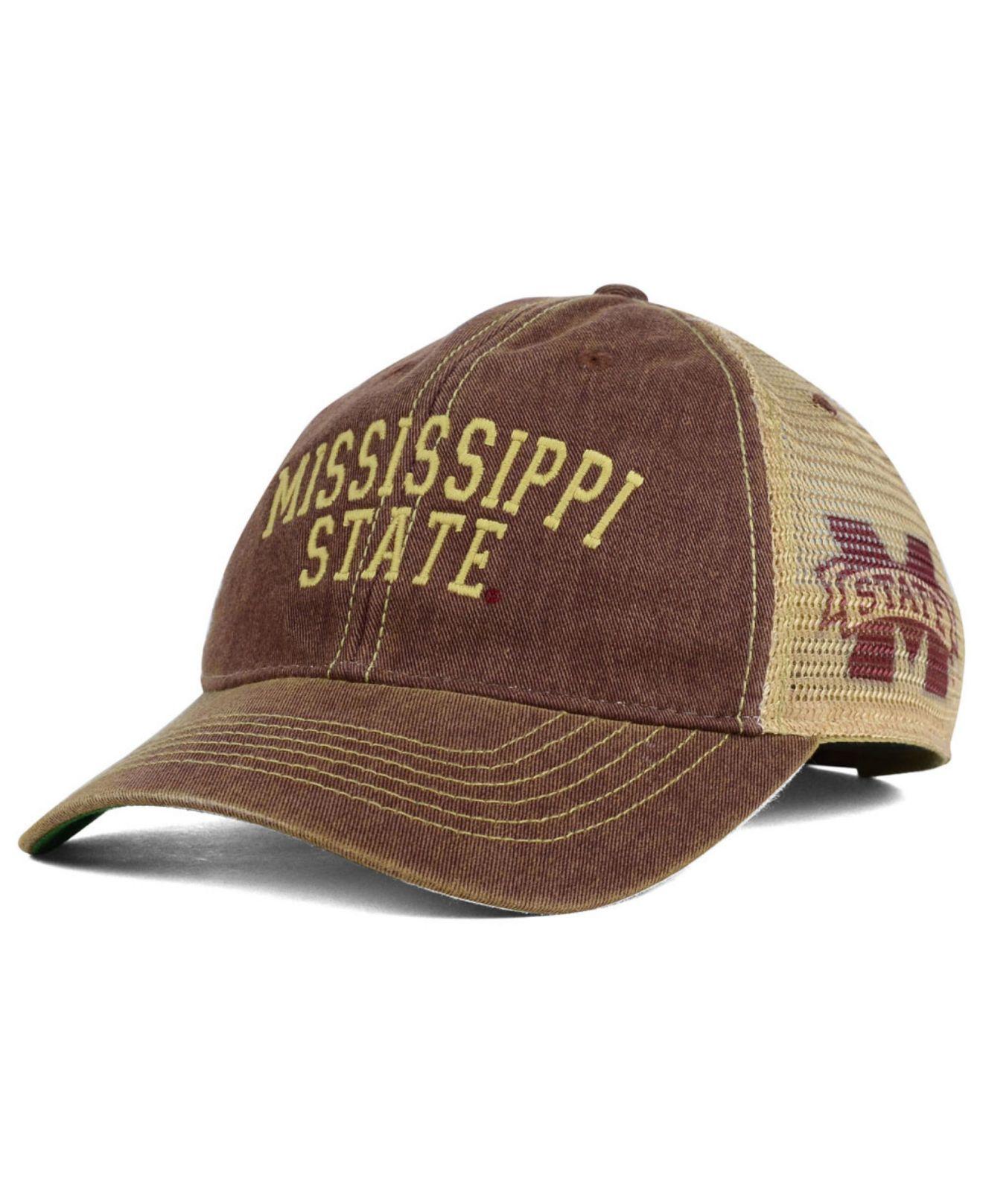 f3eccb217af Lyst - Legacy Athletic Mississippi State Bulldogs Wordmark Mesh Cap ...