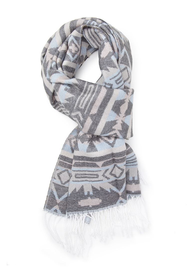forever 21 tribal print scarf lyst