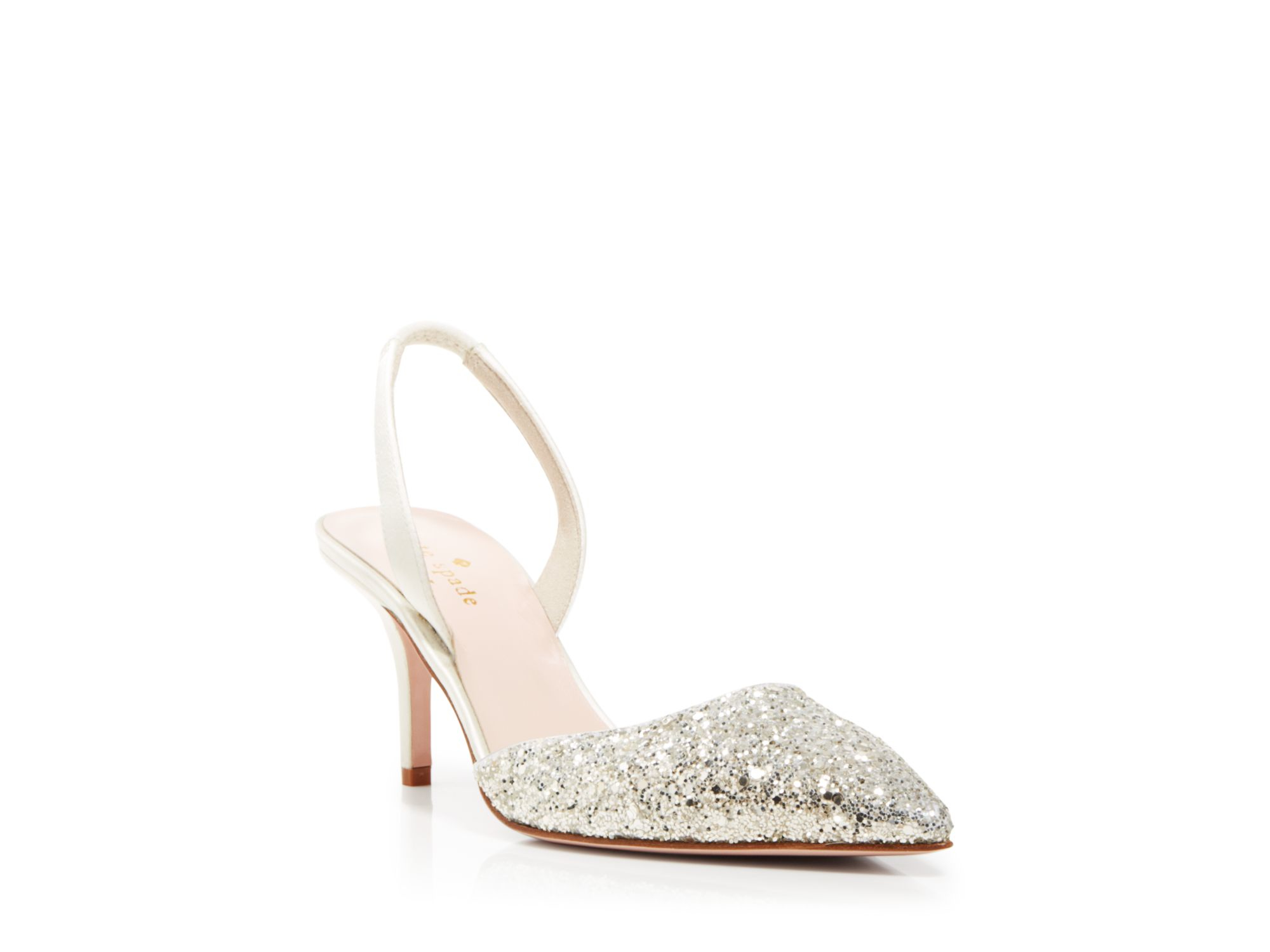 6ec3a754759  Quiz Silver Glitter Mid Heel Court Shoes – Dorothy Perkins United States