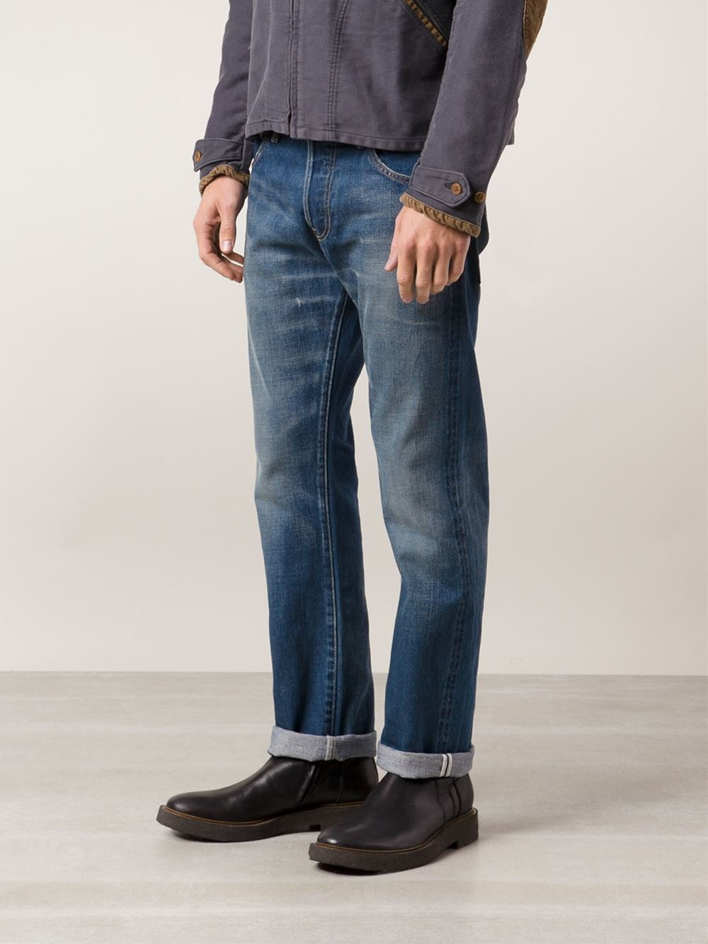 Sculpture Sociale 10 Jeans En Difficulté Visvim 8awpgT5qn