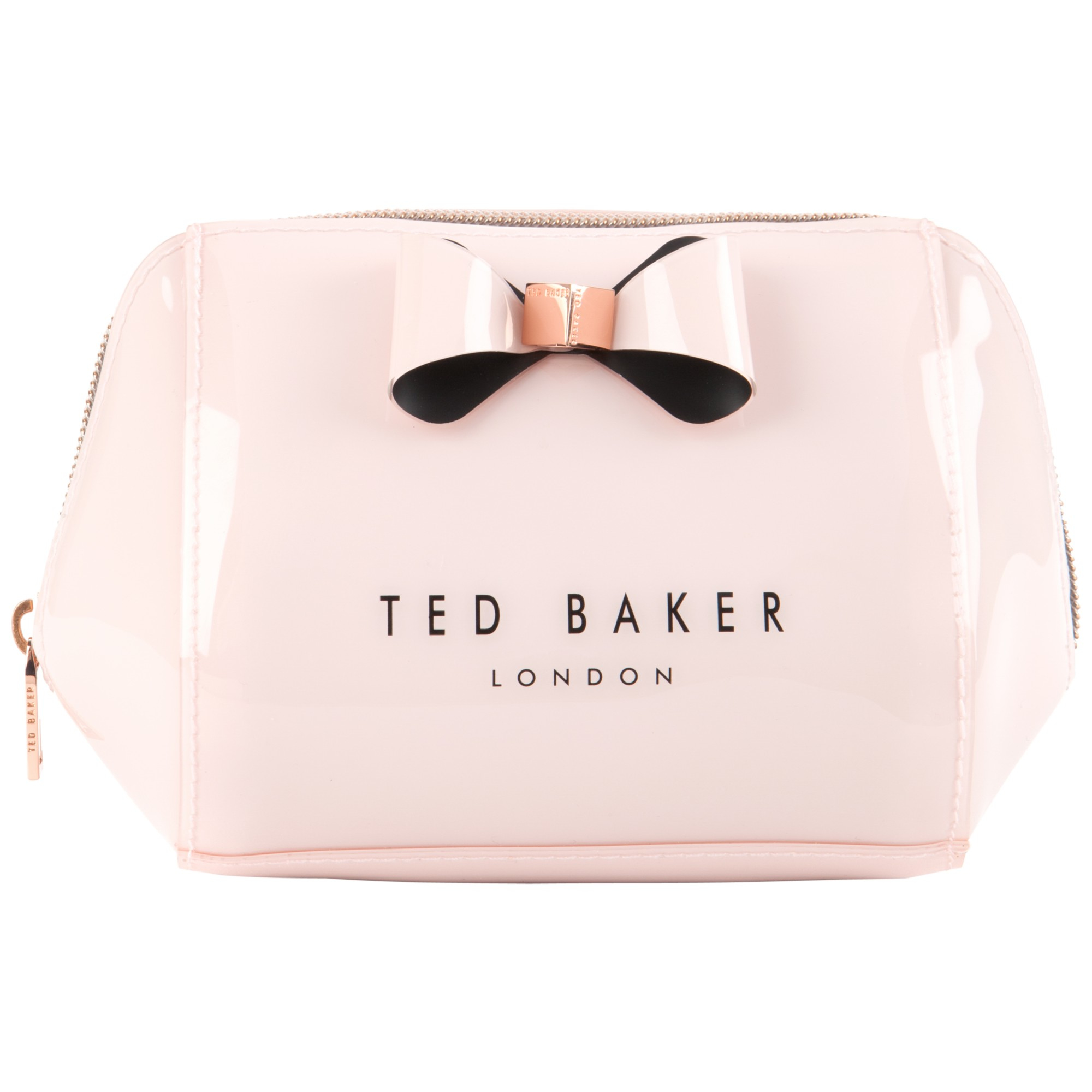 Knot Bow Leather Makeup Bag Ted Baker RYJLVHszd