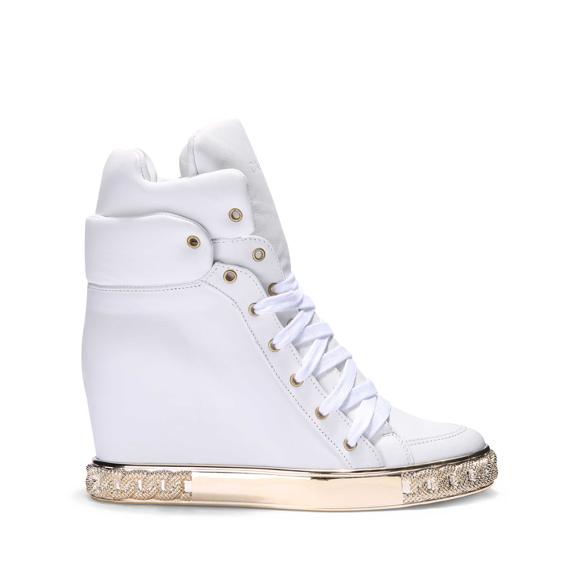 concealed wedge sneakers - White Casadei 0Xe0ZJ9