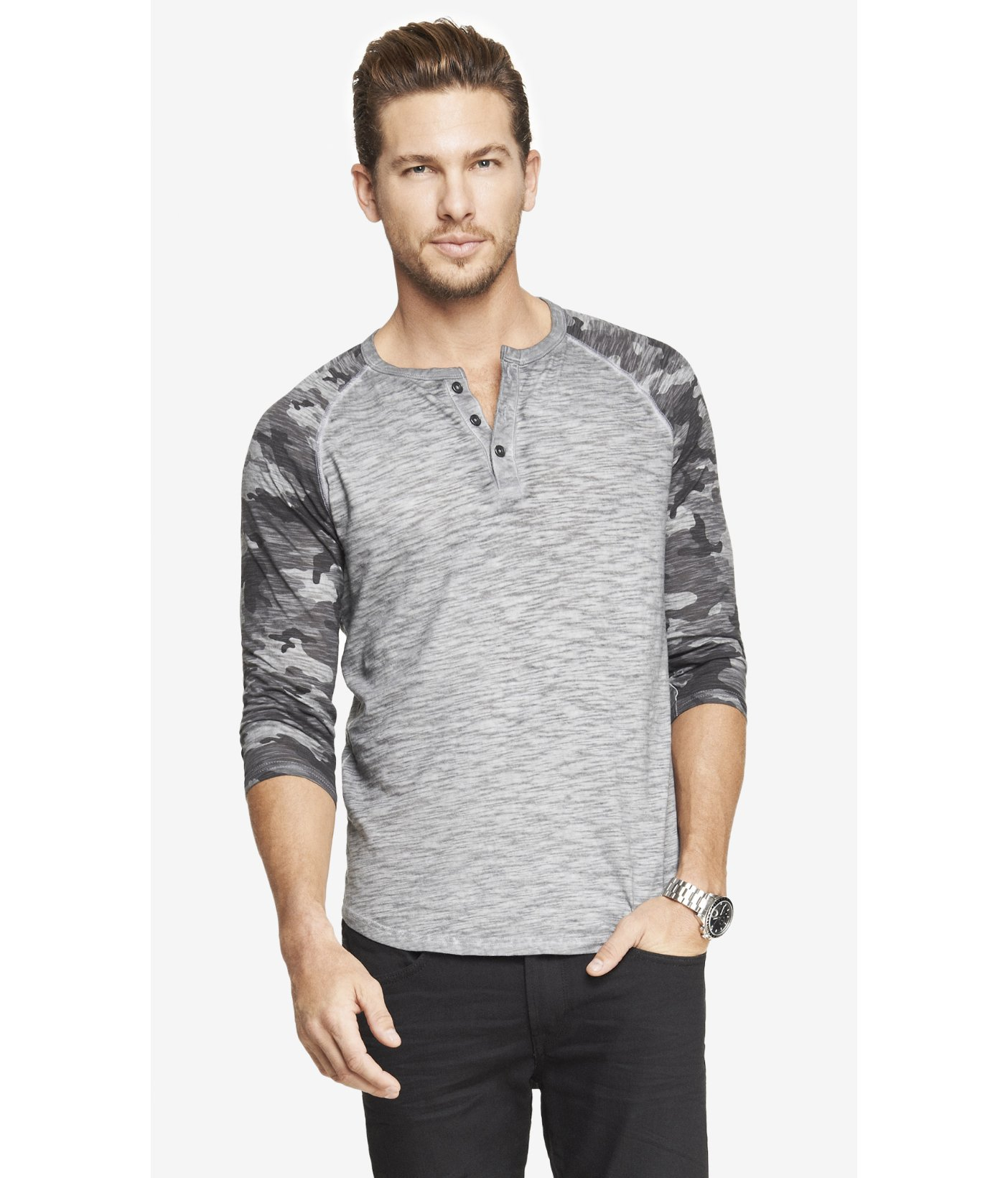 Like a henley and a baseball raglan had a baby Signature Tri-Blend fabric Brand-new silhouette Like a henley and a baseball raglan had a baby Signature Tri-Blend fabric Brand-new silhouette IT'S .