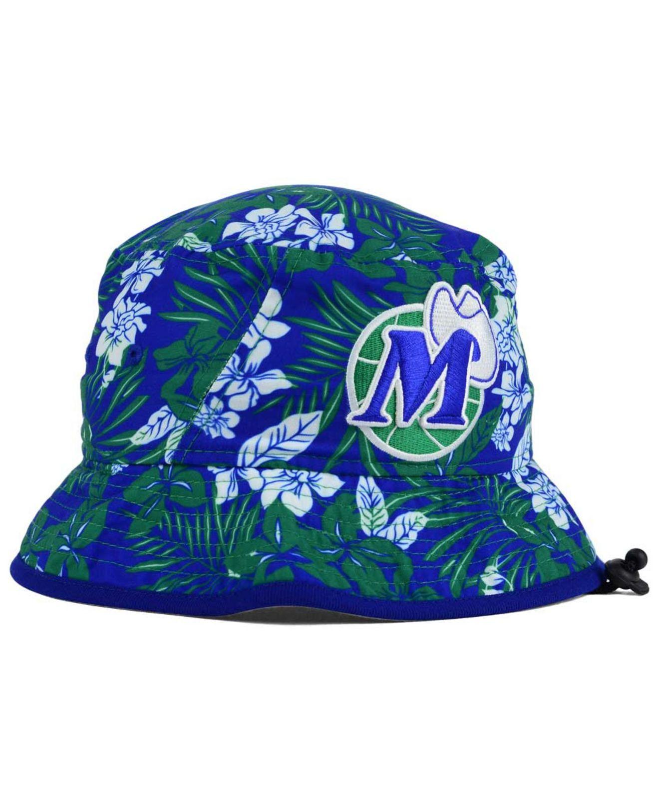 more photos 3a7c8 b29fa KTZ Dallas Mavericks Wowie Bucket Hat in Blue for Men - Lyst