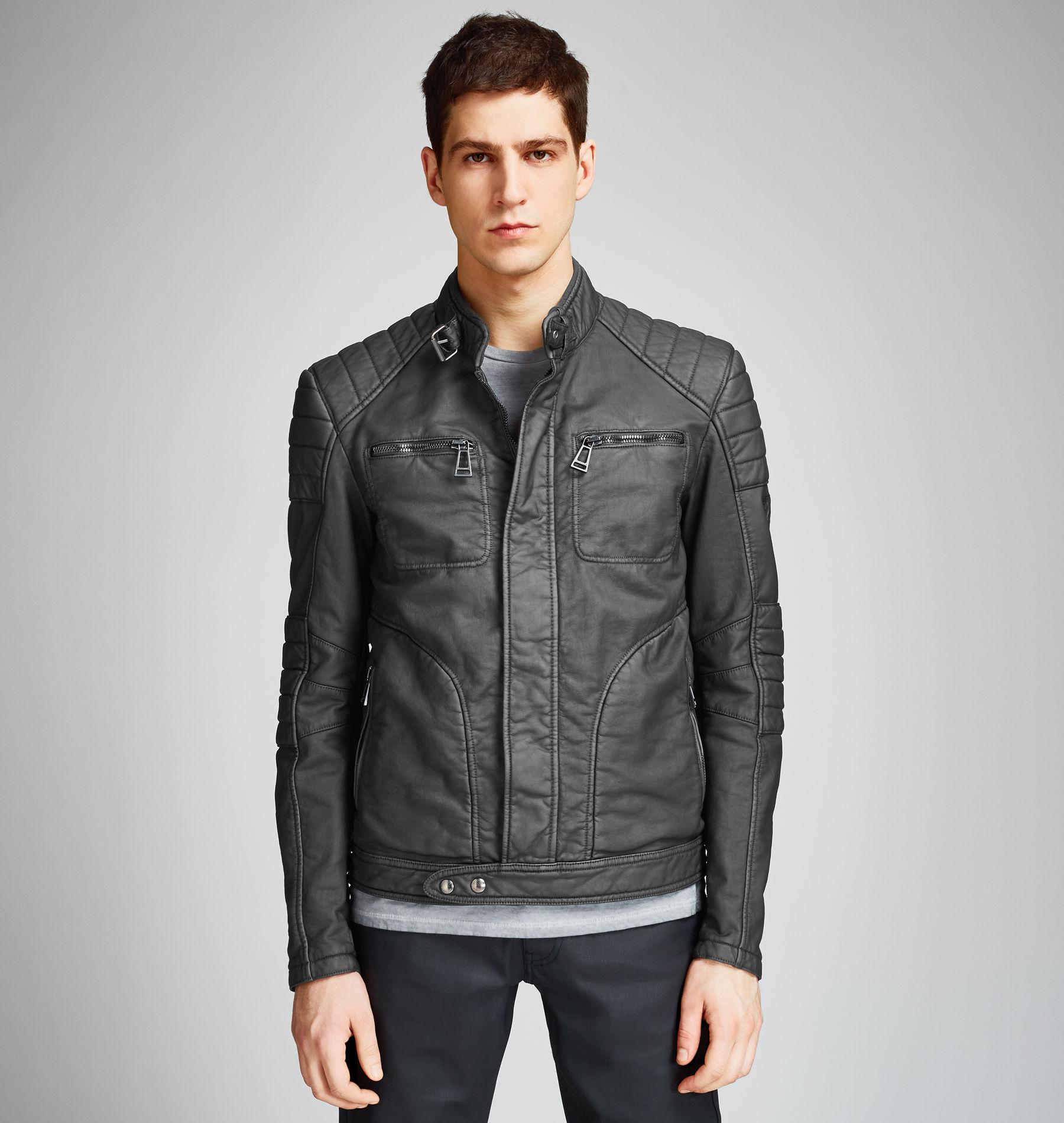 belstaff weybridge jacket in black for men lyst. Black Bedroom Furniture Sets. Home Design Ideas