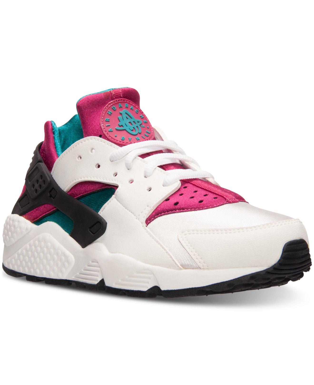 Lyst - Nike Women s Air Huarache Run Running Sneakers From Finish ... d3420e16d5e4