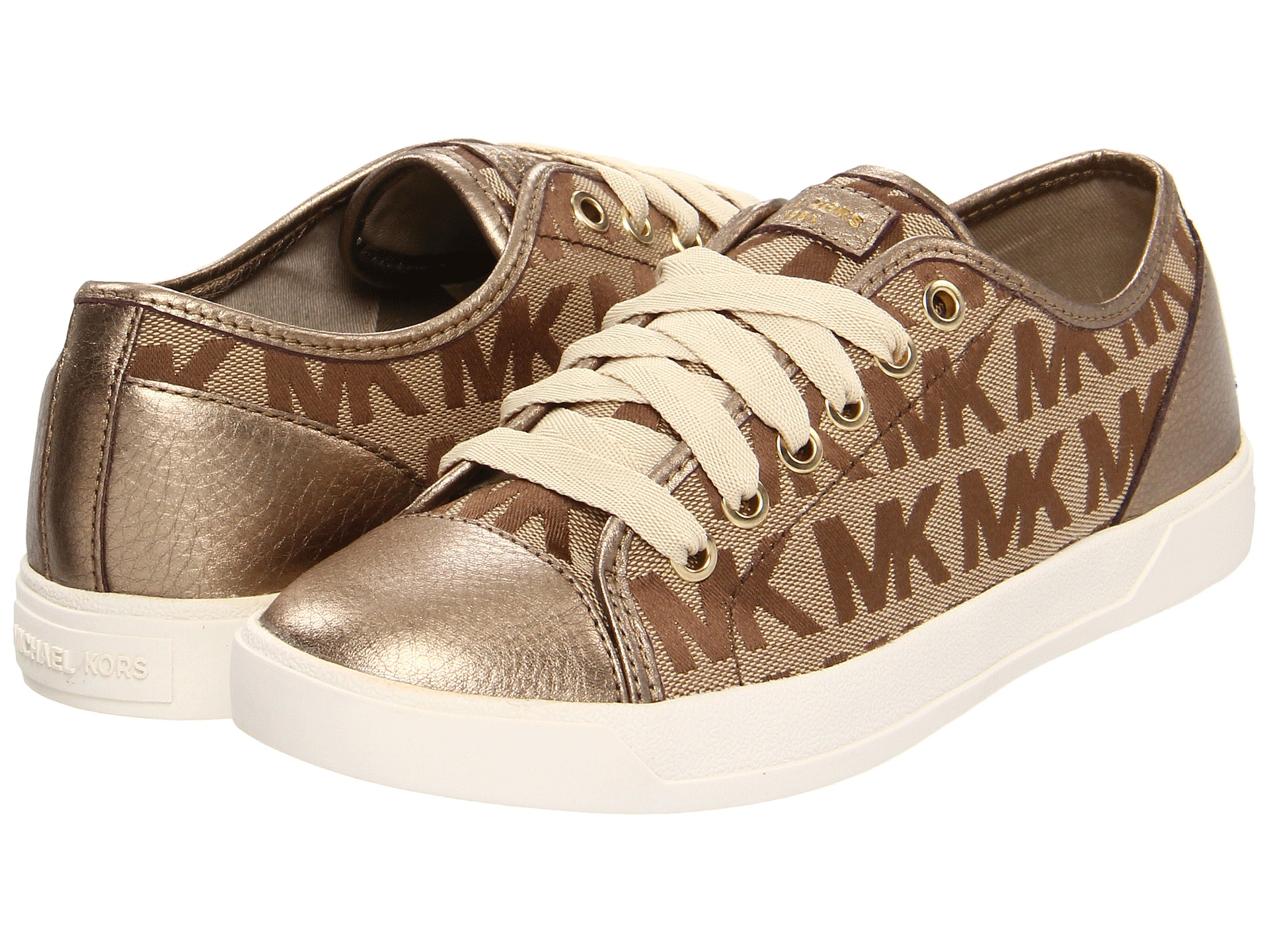 Lyst Michael Michael Kors Mk City Sneaker in Brown