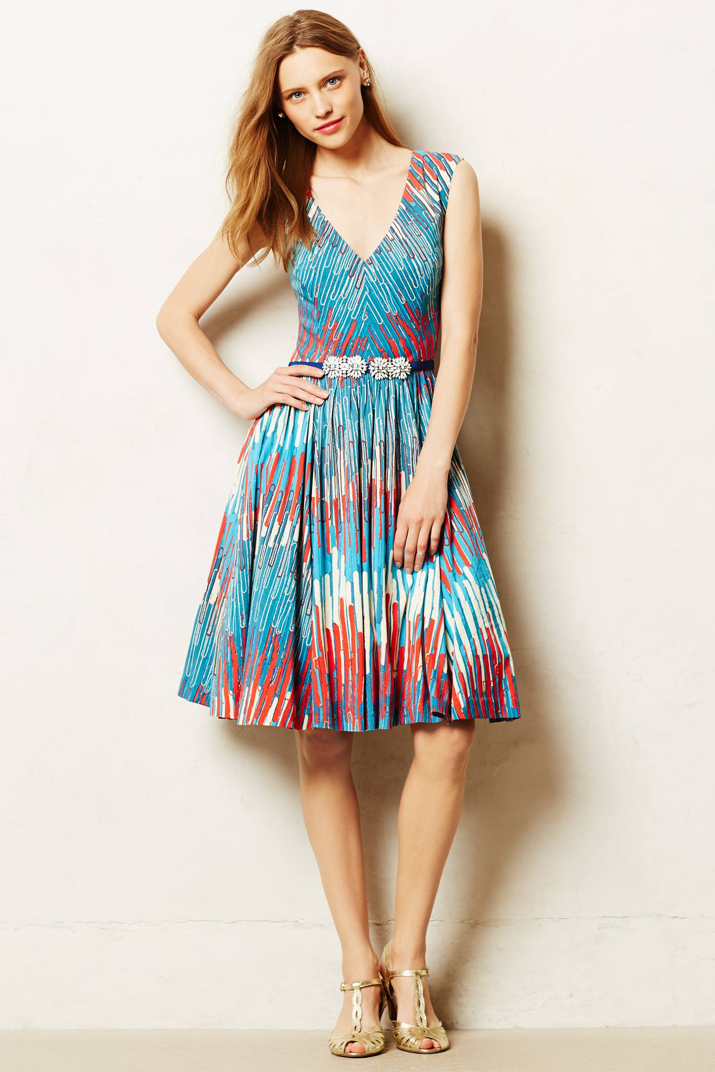 Lyst Tracy Reese Gallery Row Dress In Blue