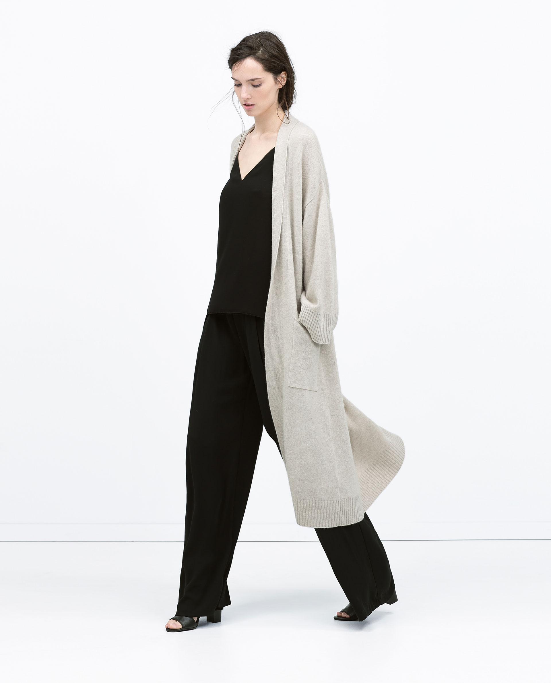 Long Cashmere Sweater Coat | Fashion Women's Coat 2017