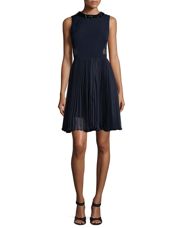 Pleated Skirt Dresses 15