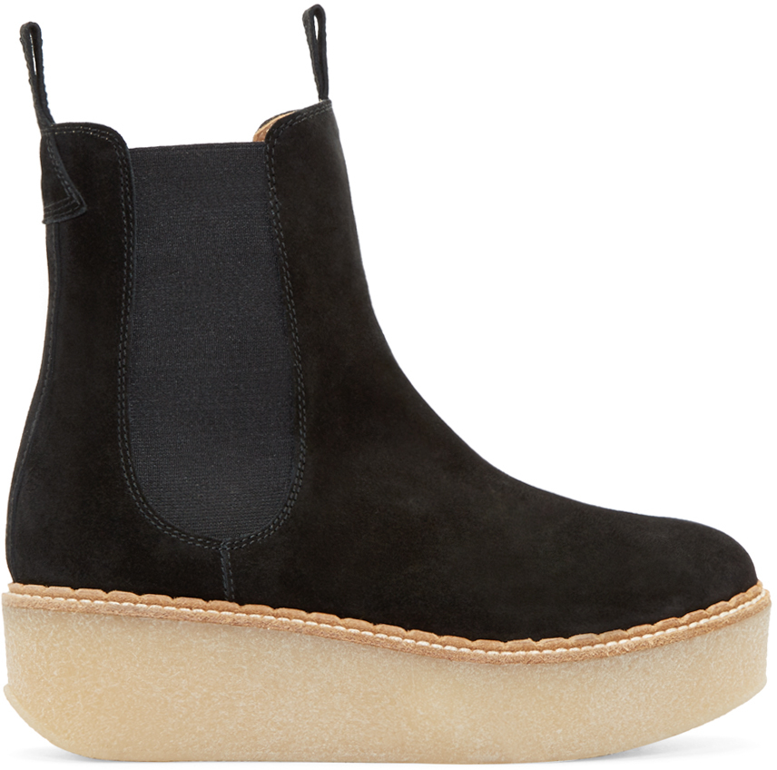 Find suede platform ankle boots at ShopStyle. Shop the latest collection of suede platform ankle boots from the most popular stores - all in one Christian Louboutin Protorlato Suede Platform Ankle Boots - Black $1, Get a Sale Alert Up to 80% Off Christian Louboutin Protorlato black suede platform ankle boot $1, Get a Sale.