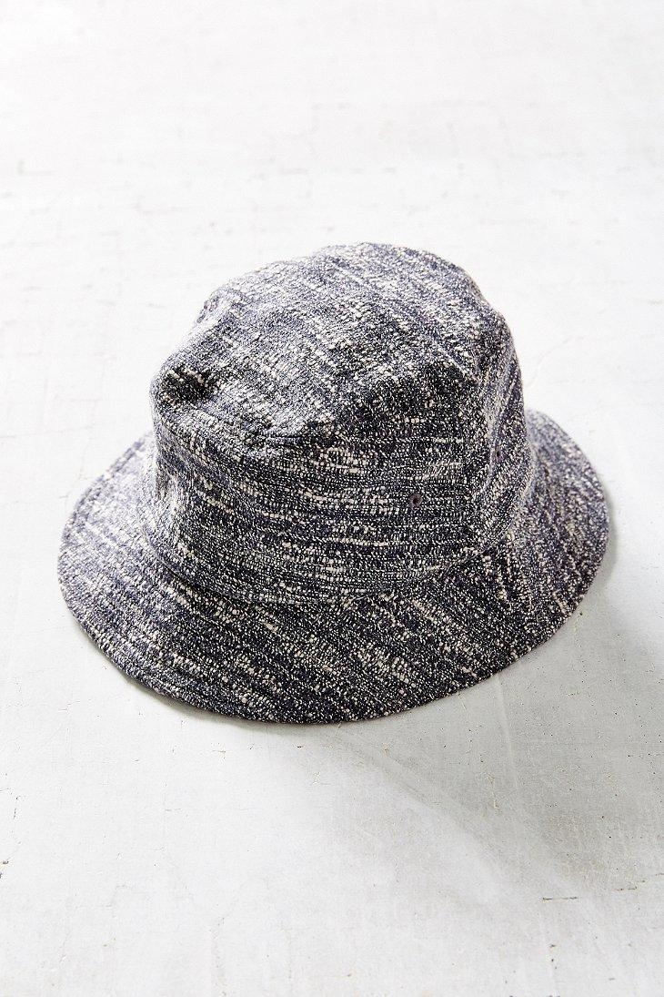 0d59bbde1ce33 Stussy Boucle Bucket Hat in Gray - Lyst