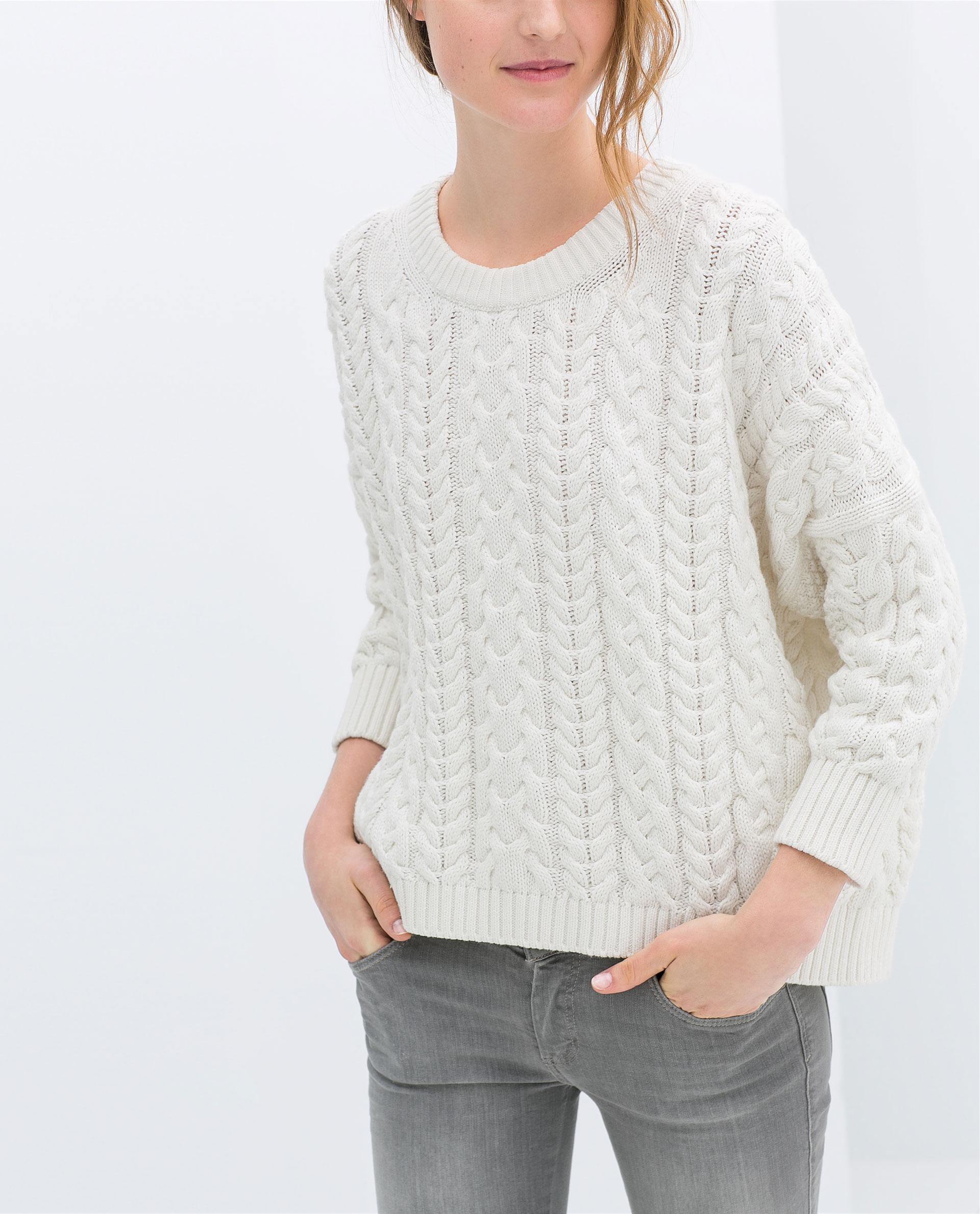 Zara Square Cut Sweater 109