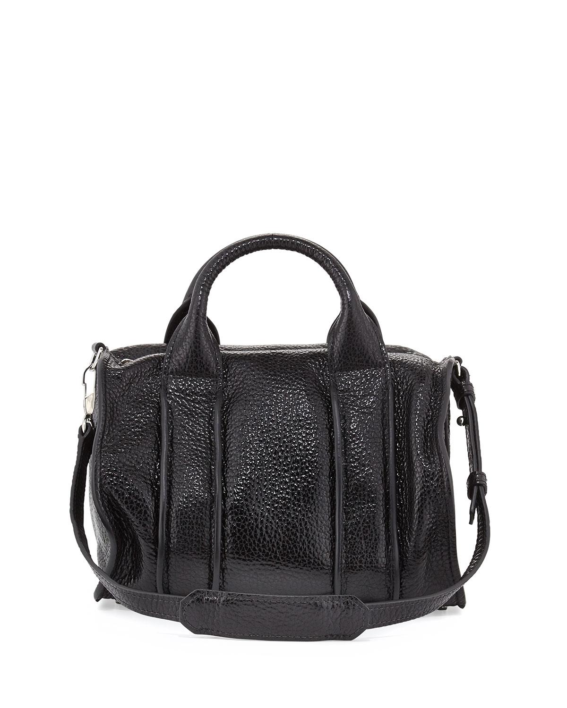 alexander wang inside out rocco pebbled leather satchel. Black Bedroom Furniture Sets. Home Design Ideas