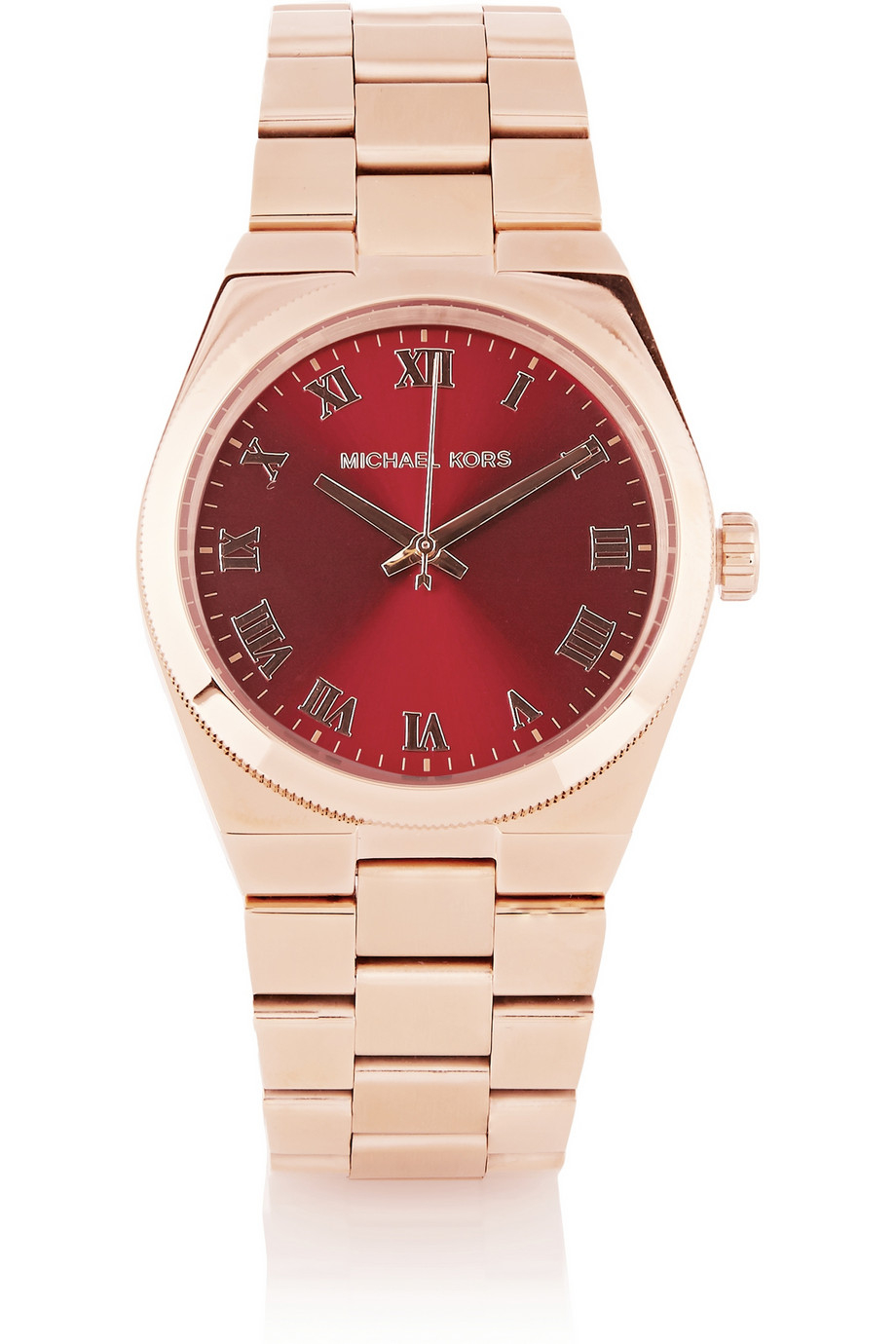 08f13abbe307 Lyst - Michael Kors Channing Rose Gold-Tone Watch in Metallic