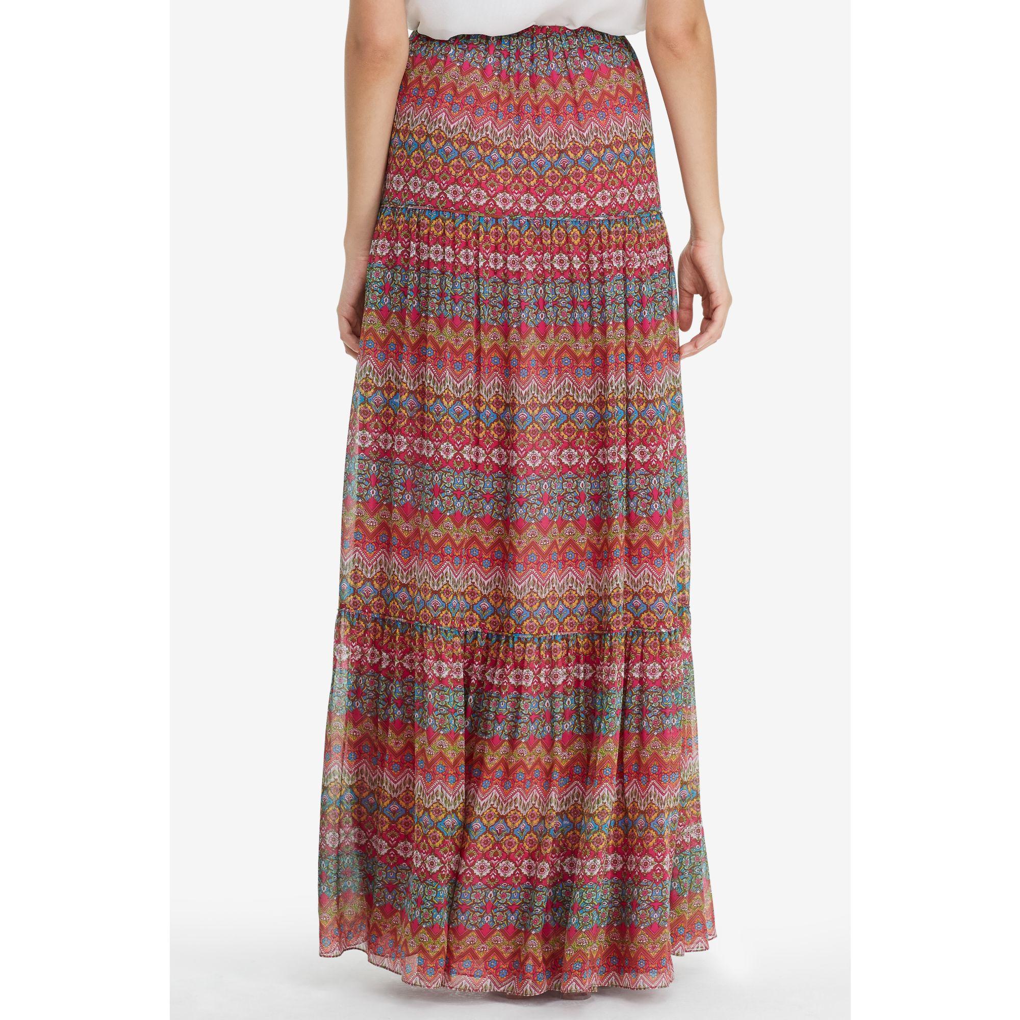 86077f8da5783 Diane von Furstenberg Dvf Baylee Chiffon Maxi Skirt - Lyst