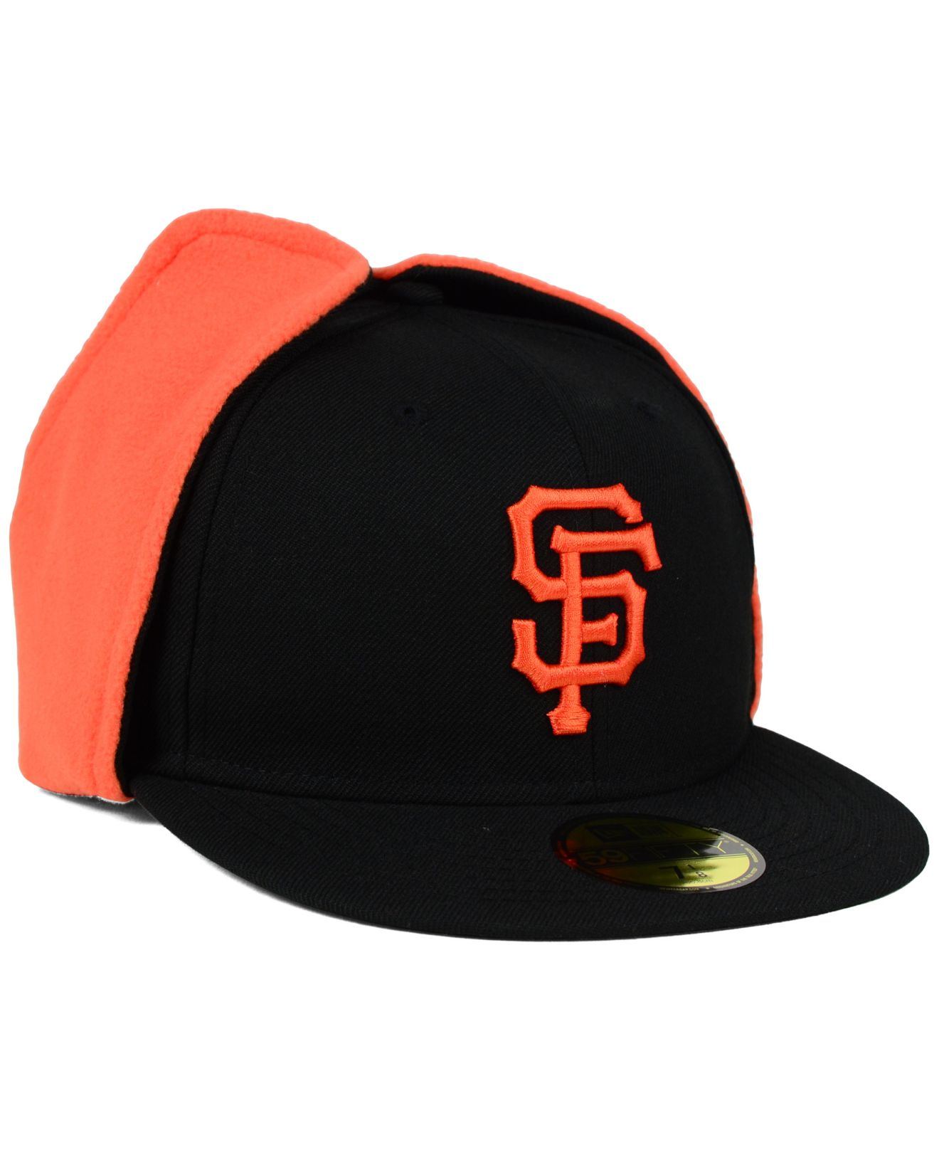 8941b131f95 Lyst - KTZ San Francisco Giants Dog Ear 59fifty Cap in Black for Men