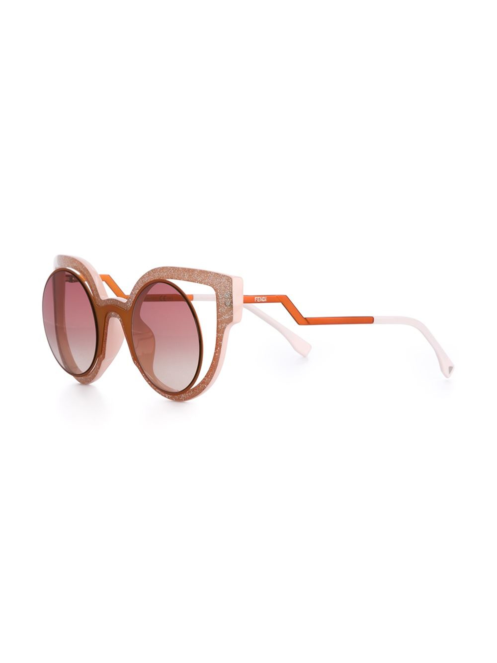 9863c3bb3ec4 Lyst - Fendi  paradeyes  Sunglasses in Brown