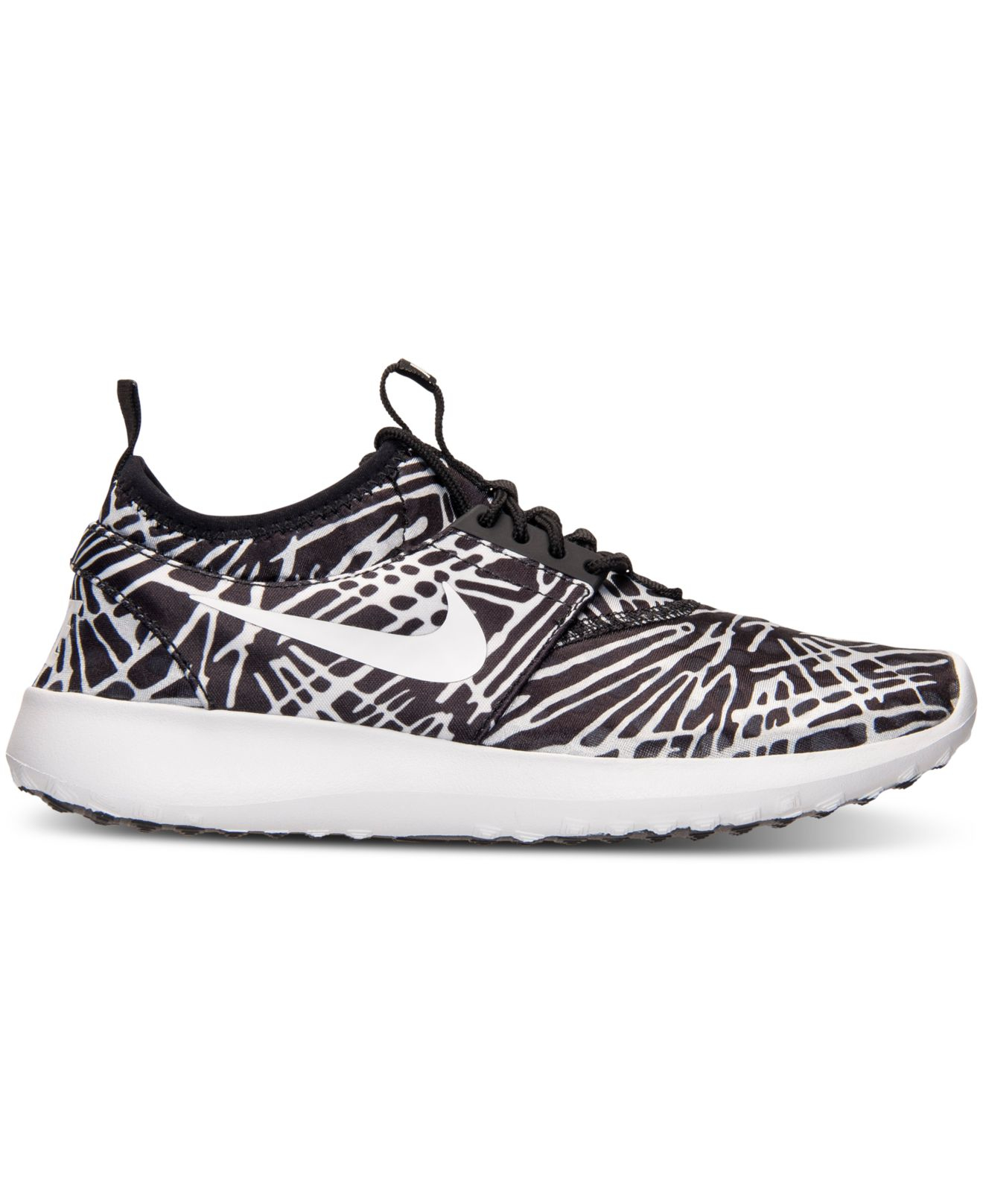 best service a2e3c 55310 Lyst - Nike Women s Juvenate Print Casual Sneakers From Finish Line in Black