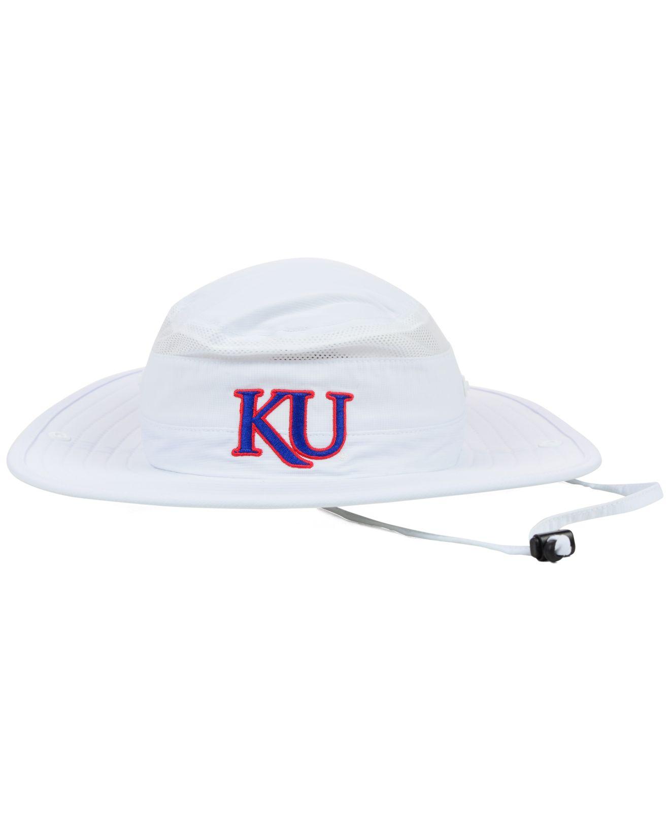 Lyst Adidas Kansas Jayhawks Campus Safari Hat In White