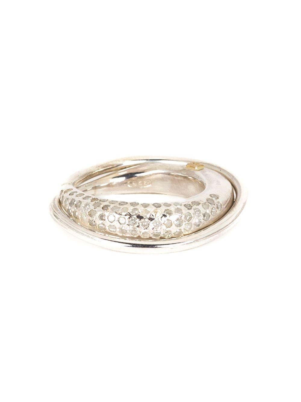 Rosa Maria diamond ring - Metallic 6mTgT