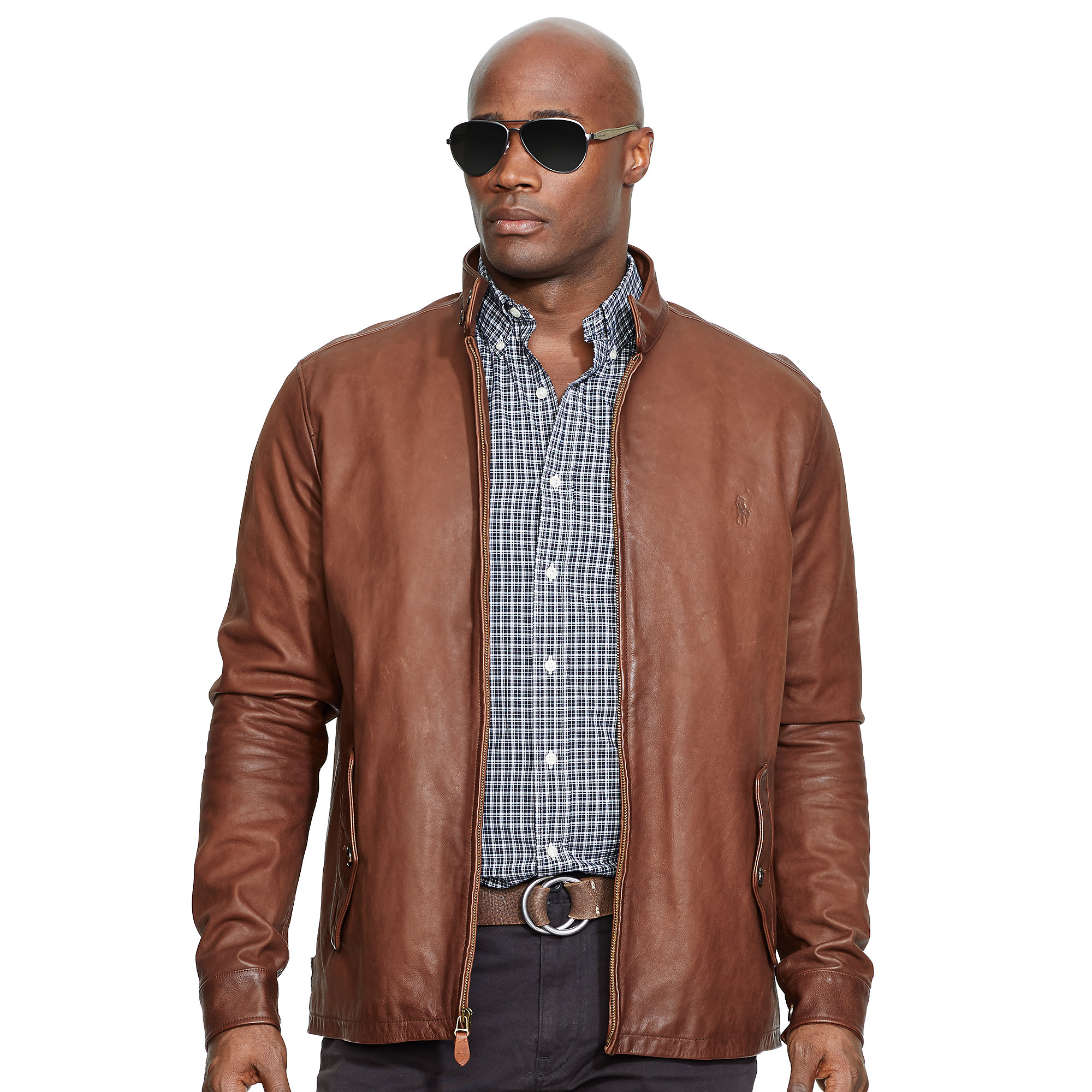 Big & tall leather jackets