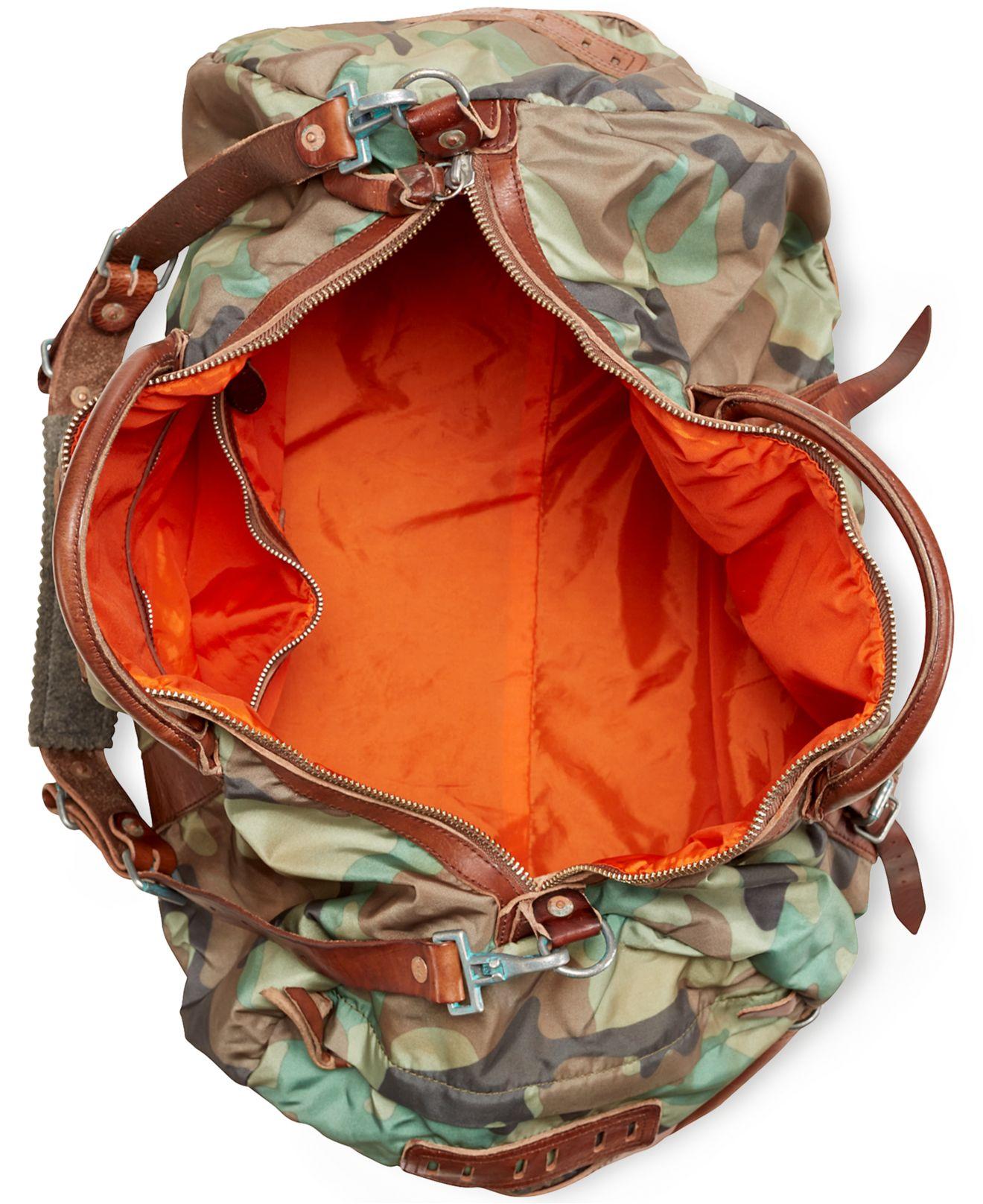 Lyst - Polo Ralph Lauren Yosemite Duffel Bag in Green for Men f2e23be53e