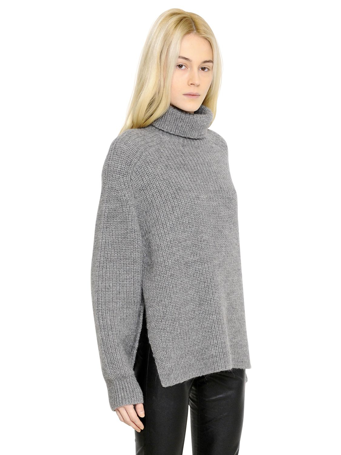 Étoile isabel marant Oversized Wool Blend Turtleneck Sweater in ...