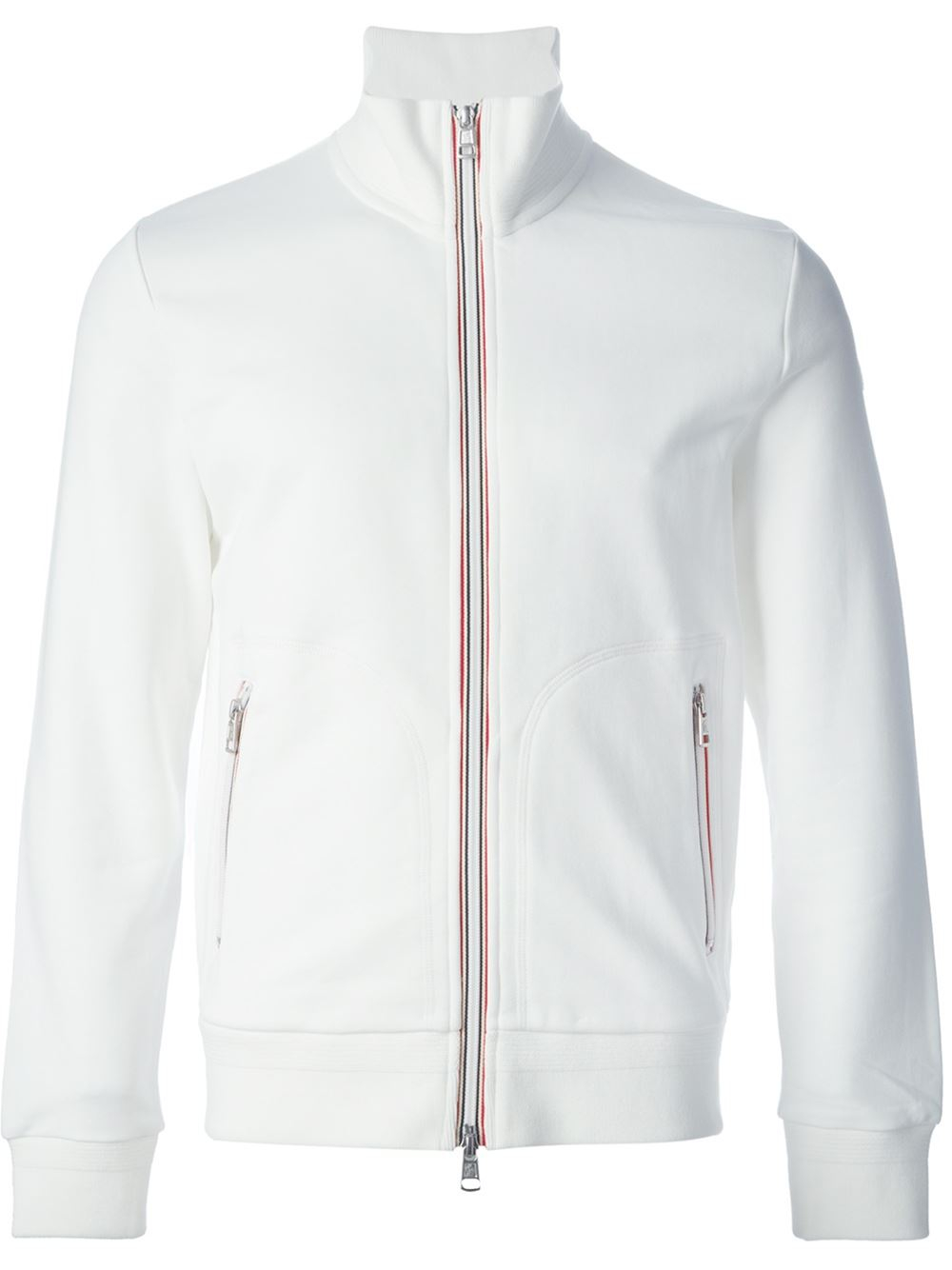 moncler white sweater