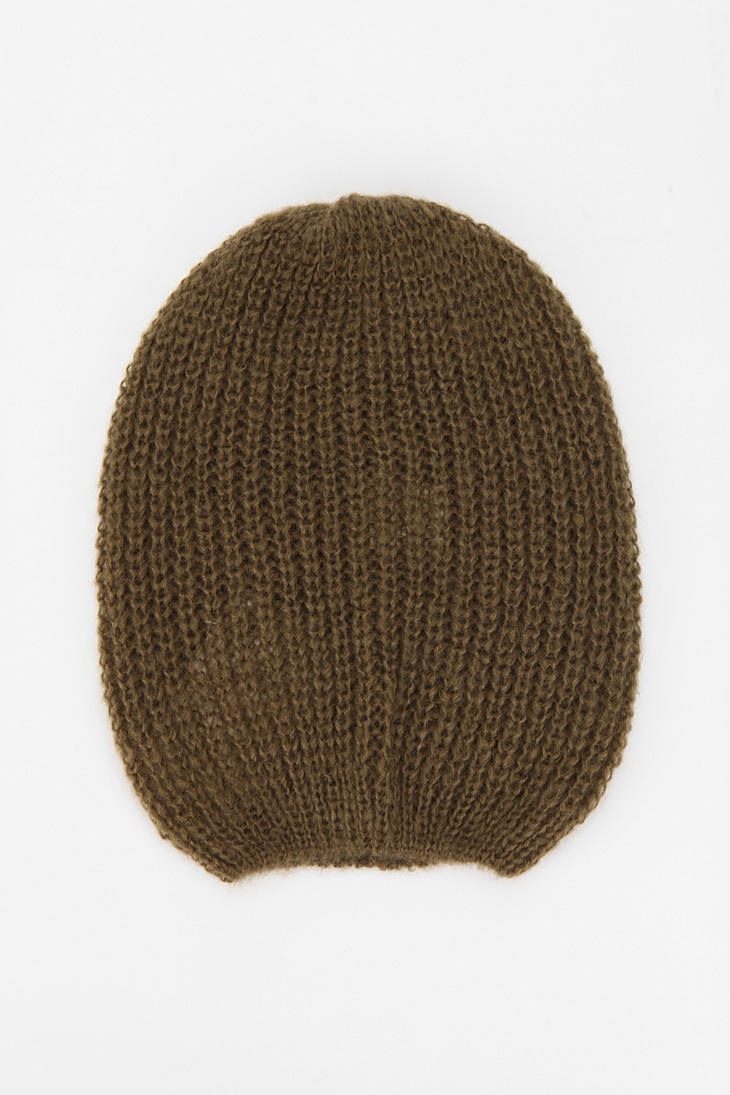 f8114911a0f Lyst - Urban Outfitters Bdg Slouchy Beanie in Green