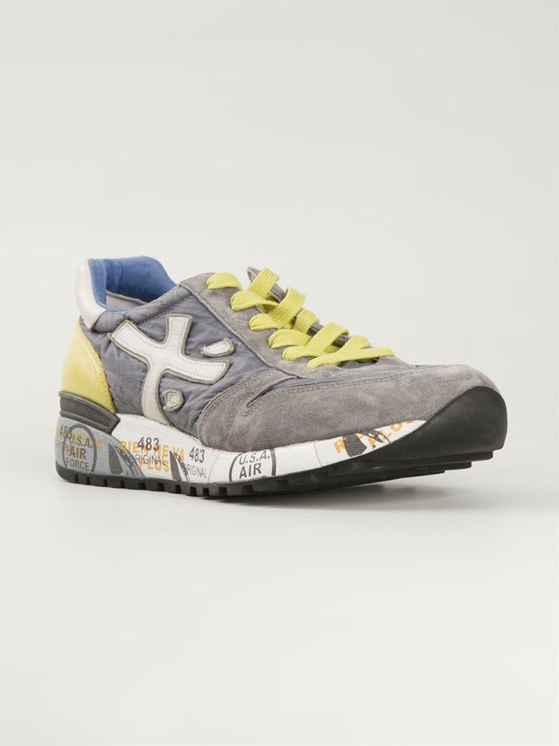 Mick sneakers - Grey White Premiata ZgHxUrY5Z