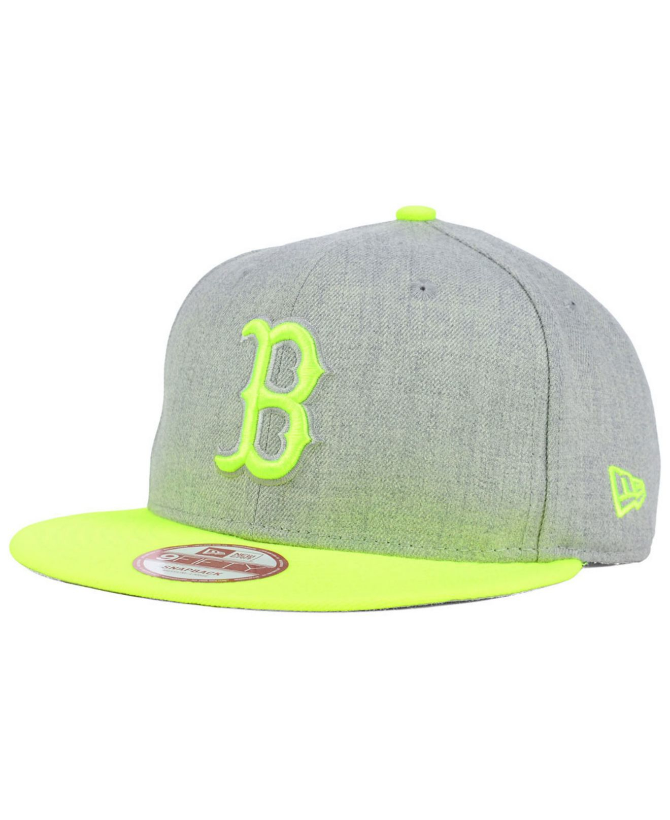 ebf602f5ffe clearance new york yankees yellow hats 8a972 2223e  discount lyst ktz  boston red sox speed up 9fifty snapback cap in gray for men 89e11