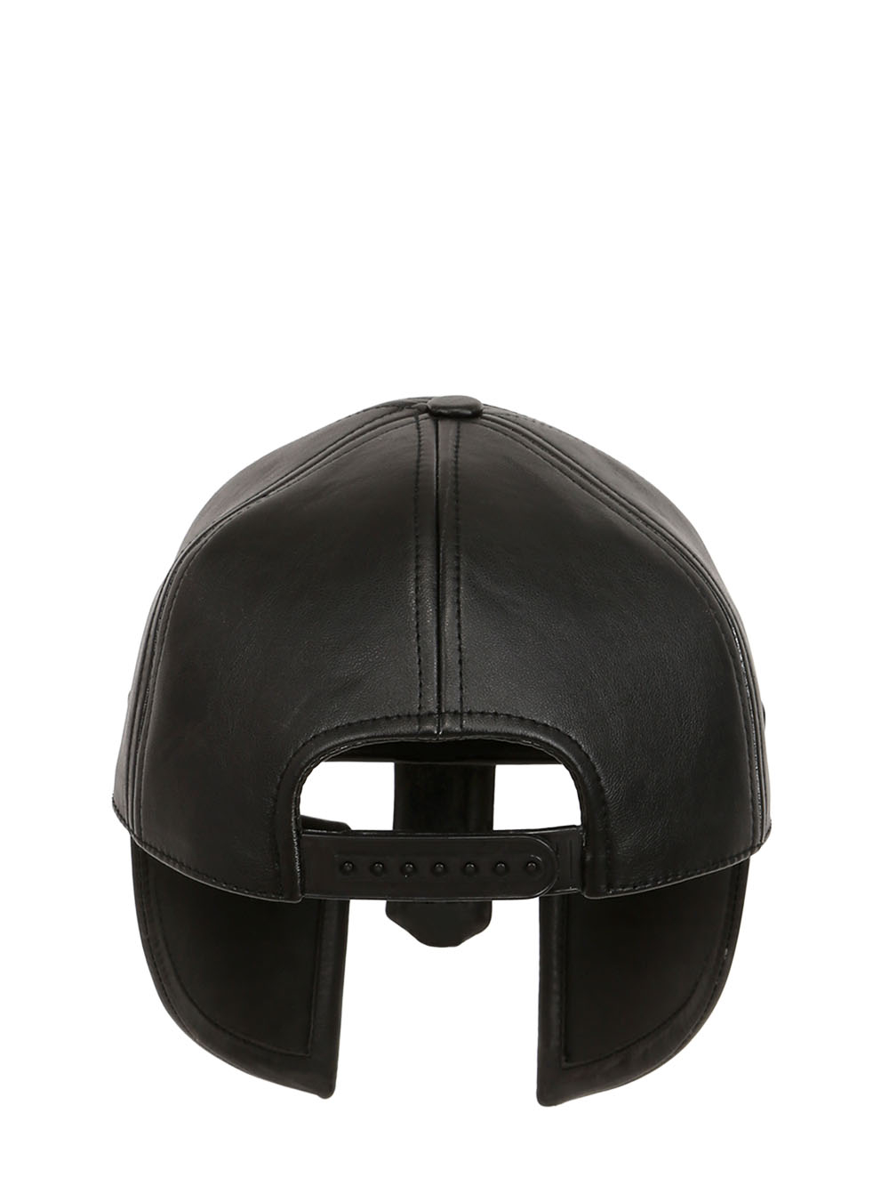 9751ae27522809 KTZ Leather Armor Mask / Hat in Black for Men - Lyst
