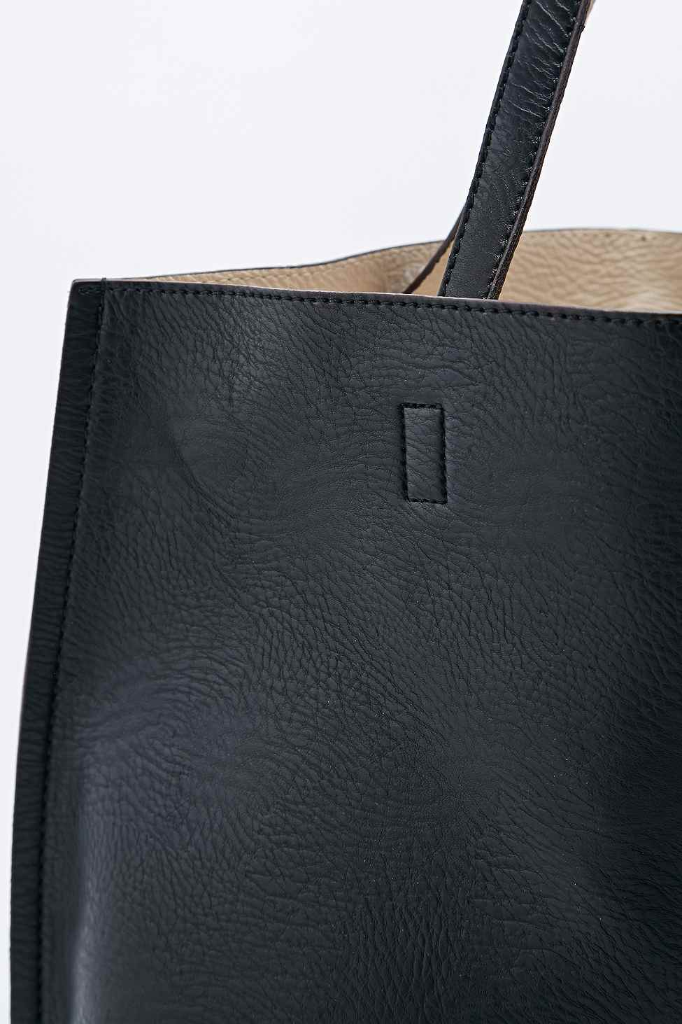 Urban outfitters Reversible Vegan Leather Oversized Tote Bag in ...