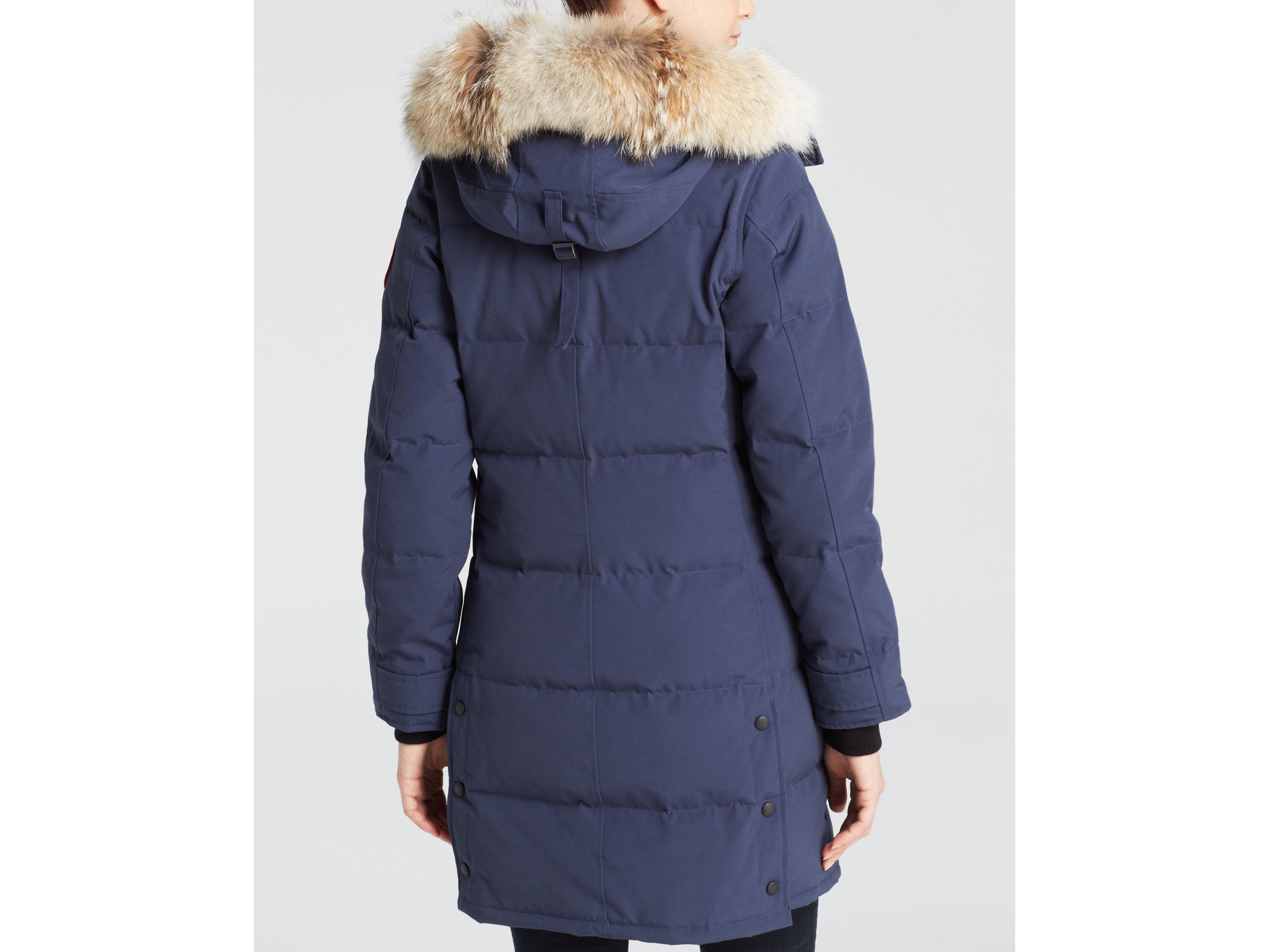 Canada Goose womens online authentic - Canada goose Down Coat - Shelburne Parka in Blue (Spirit) | Lyst