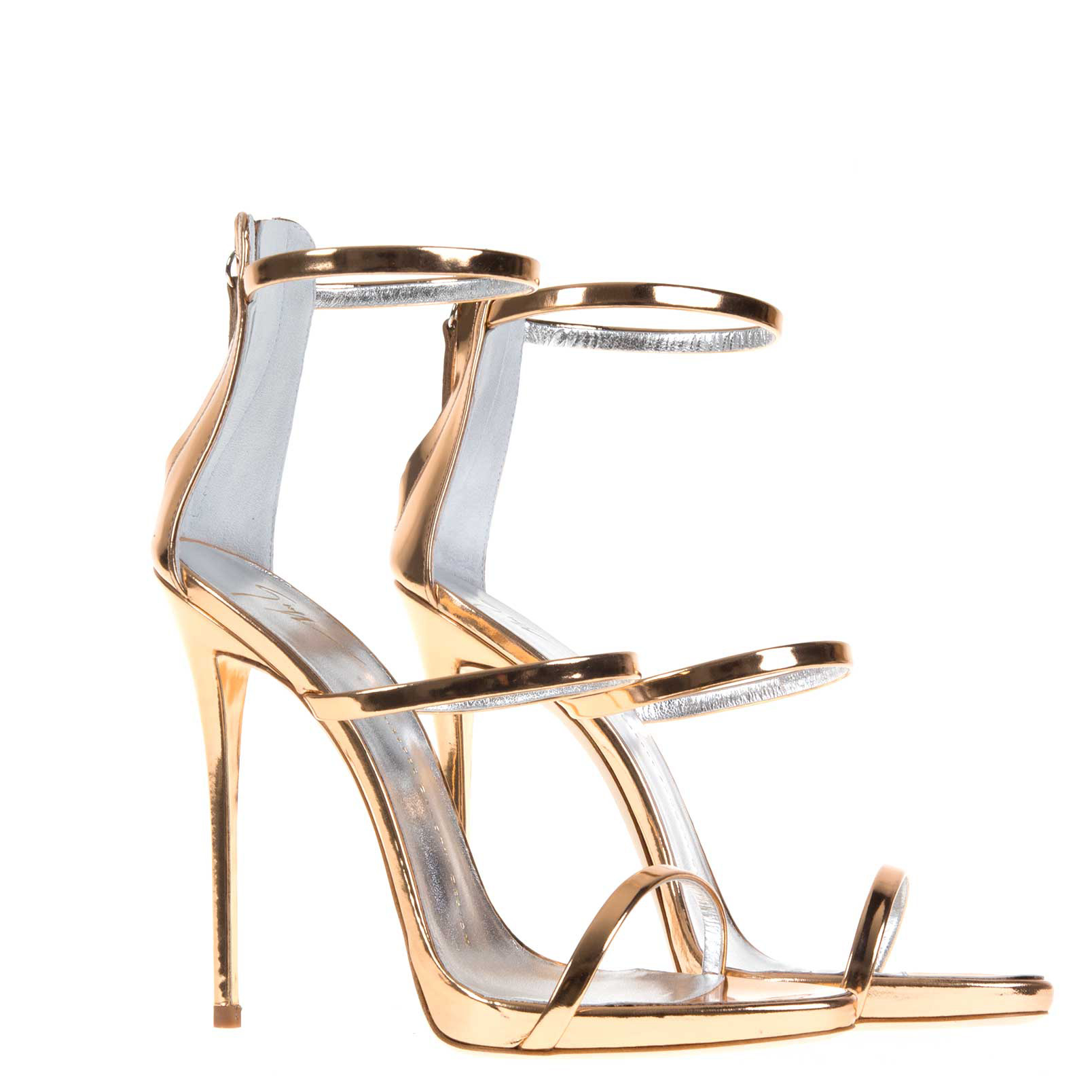 Harmony Metallic Leather Sandals - Gold Giuseppe Zanotti 4fp85Az4