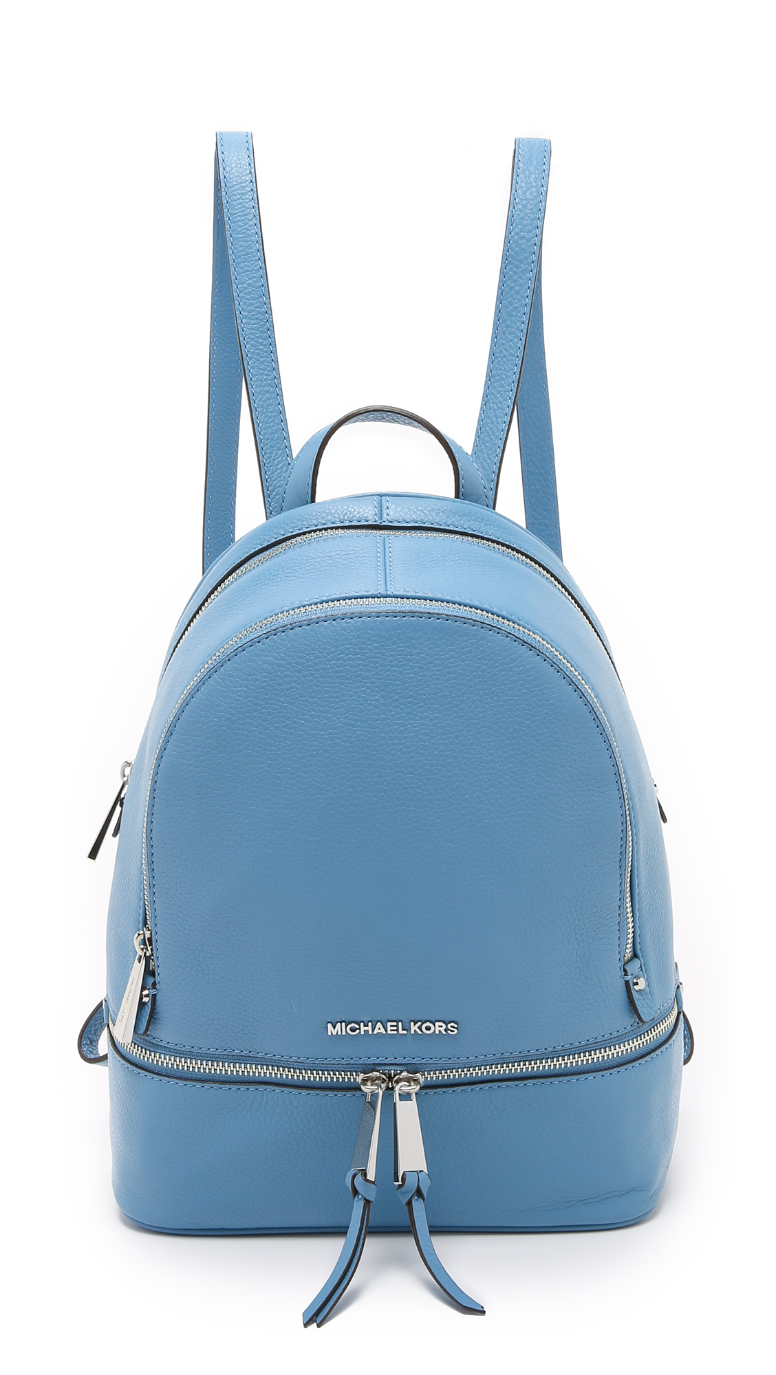 35898a1f0171 ... promo code for michael michael kors rhea small backpack ballet in blue  lyst 928b5 348c8